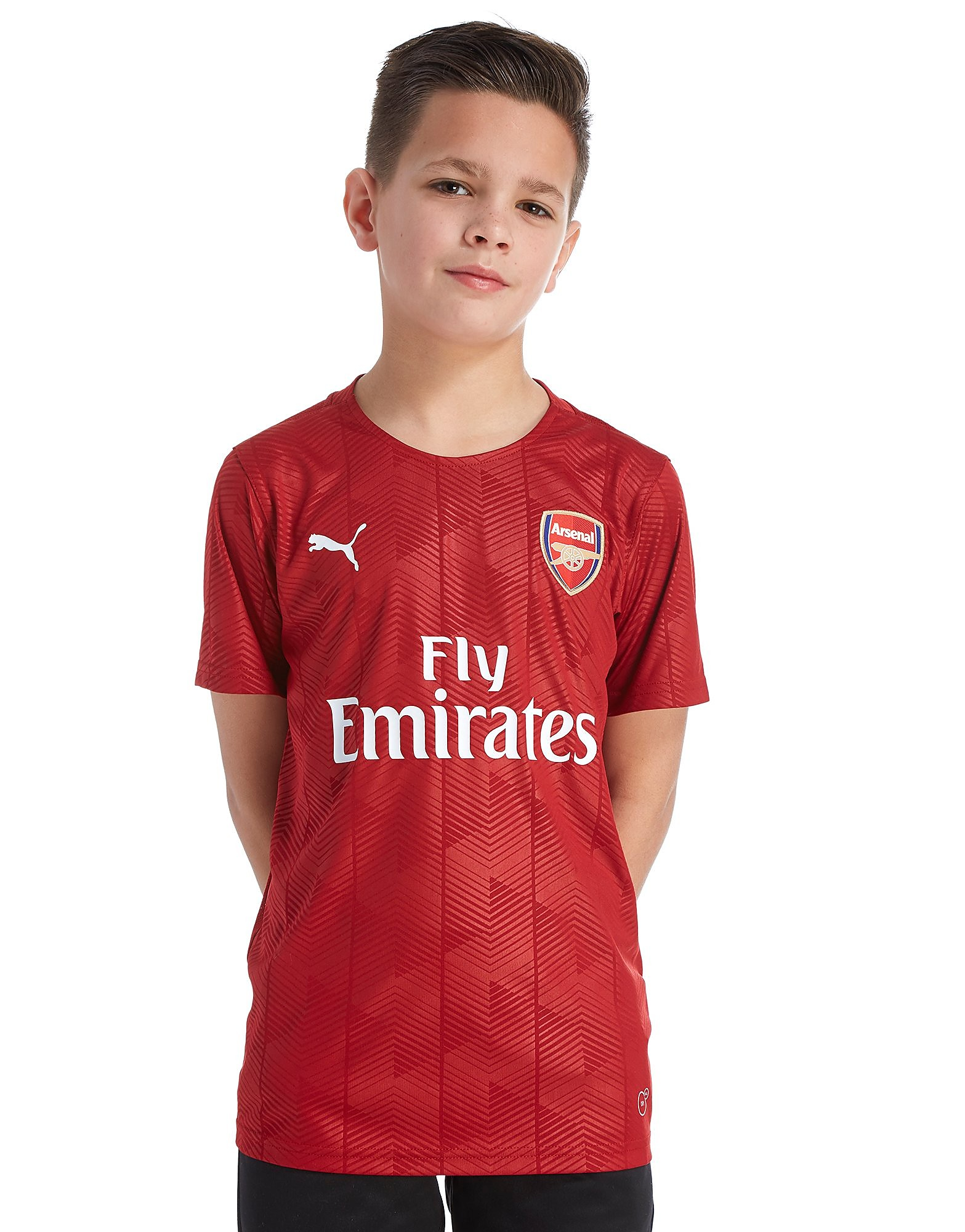 PUMA camiseta Arsenal FC 2018 Stadium júnior
