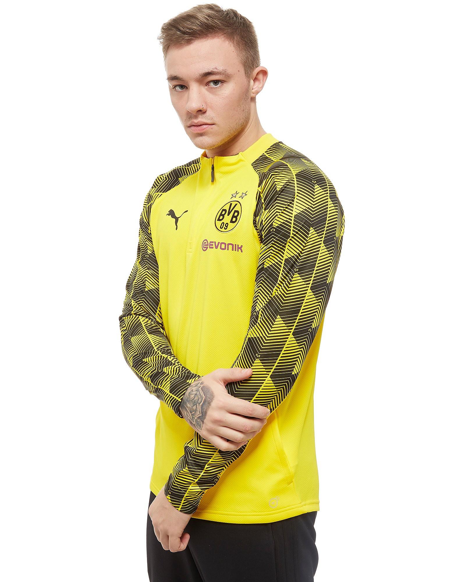 PUMA Borussia Dortmund 2018 1/4 Reißverschluss Trainingsoberteil