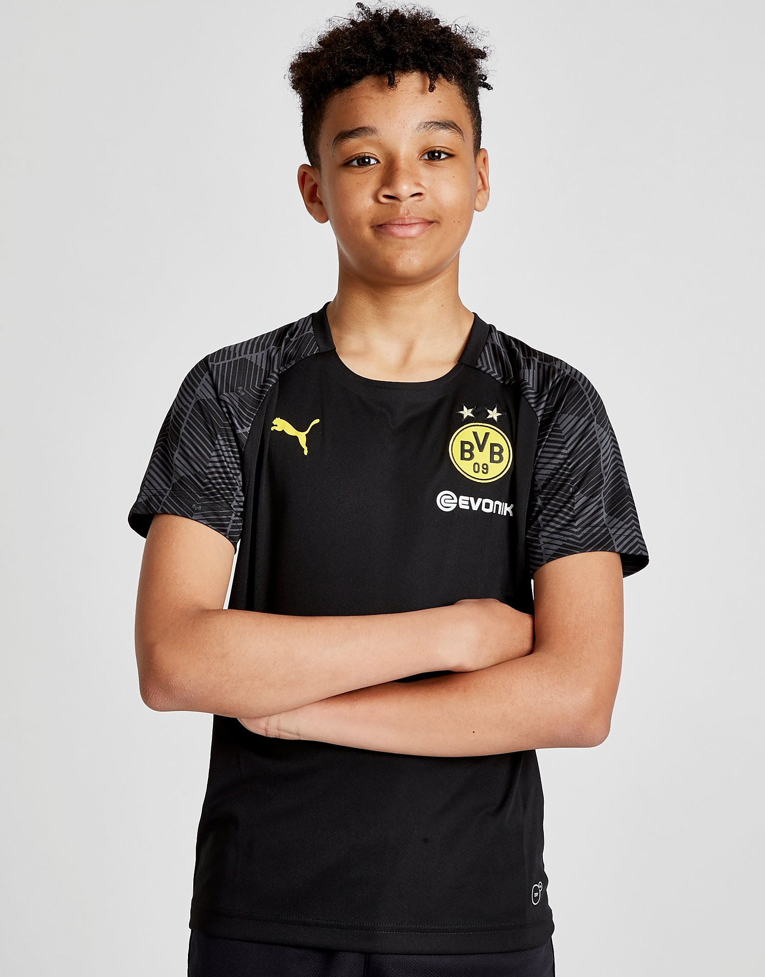 PUMA Borussia Dortmund 2018 Stadium Shirt Junior