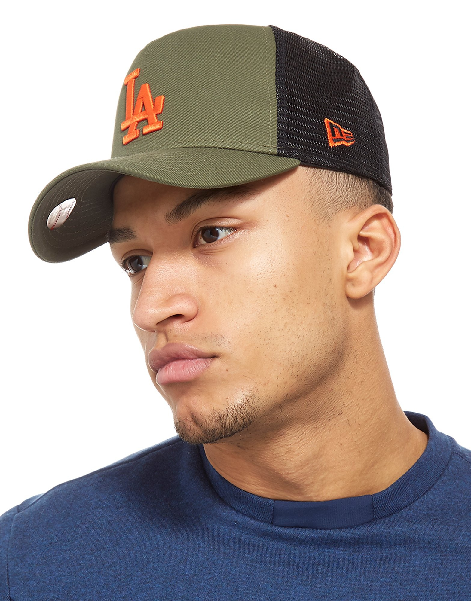 New Era LA Dodgers Trucker Cap Homme