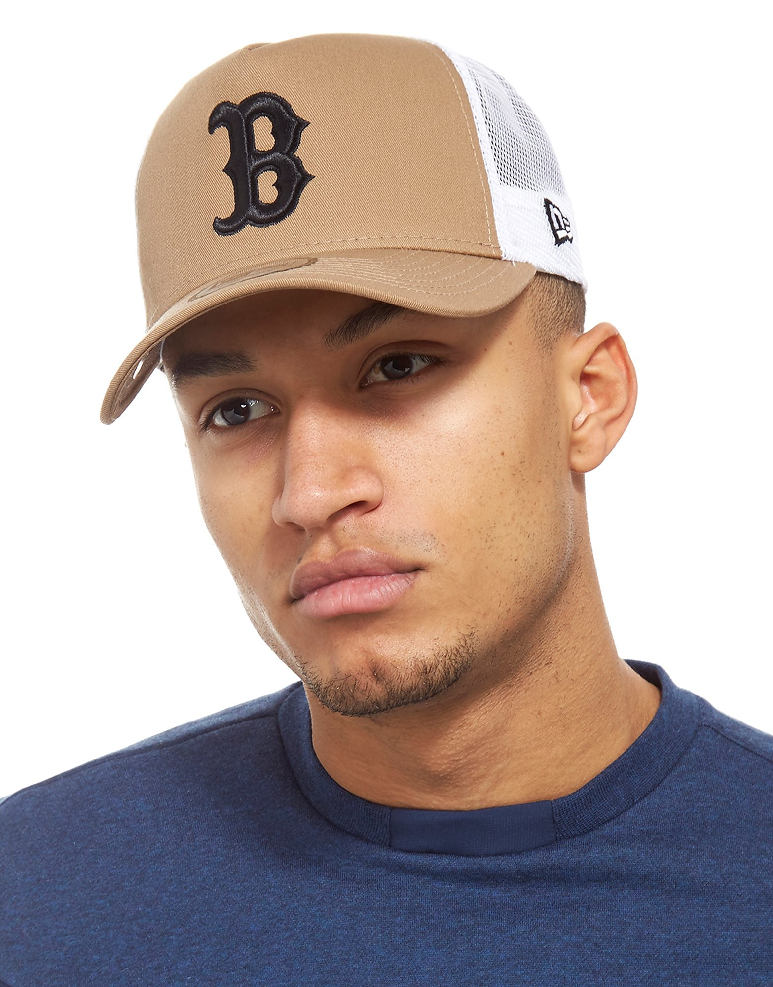 New Era Boston Red Sox Trucker Cap Homme