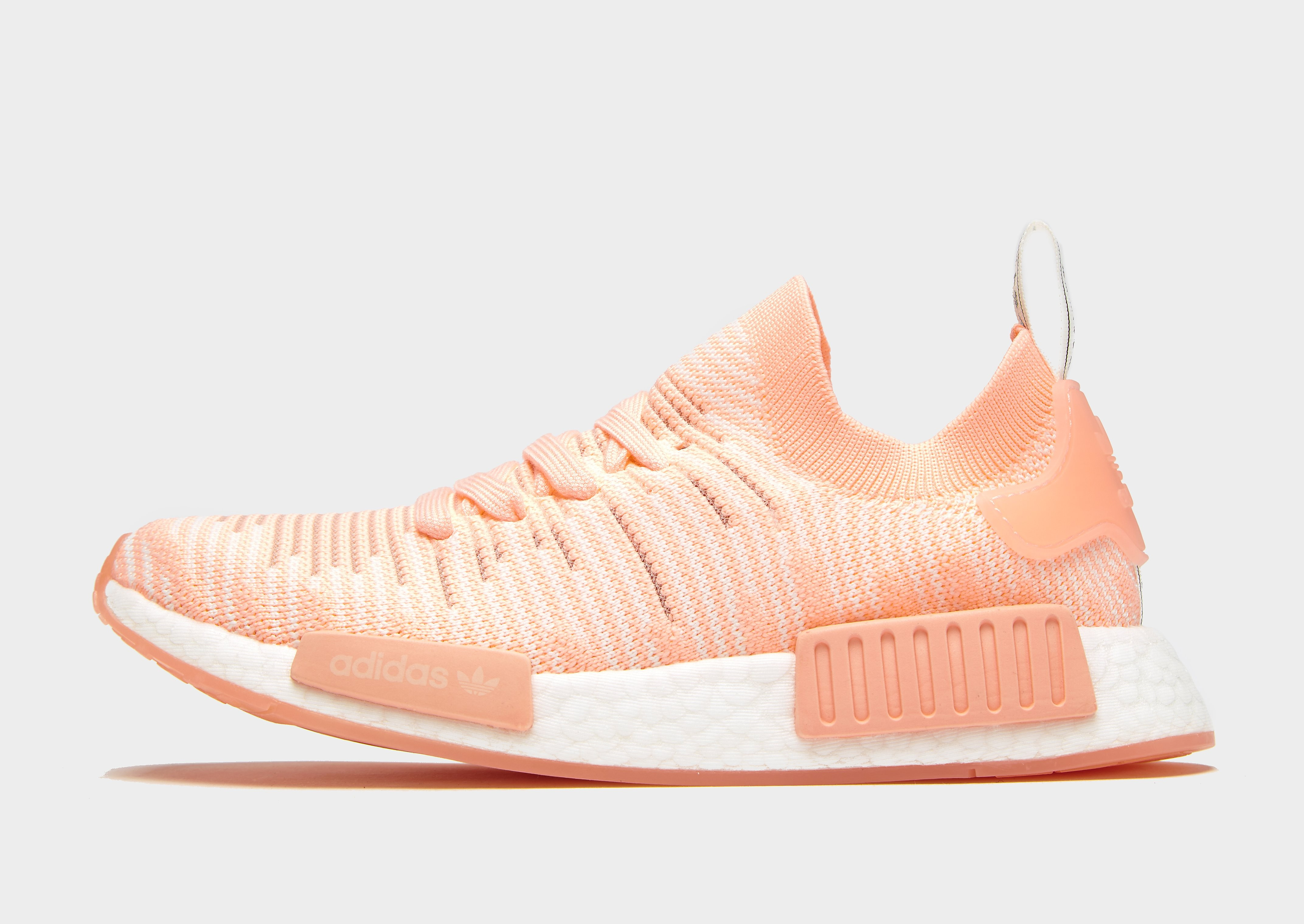 adidas Originals NMD_R1 STLT Primeknit Dames - Peach/White - Dames