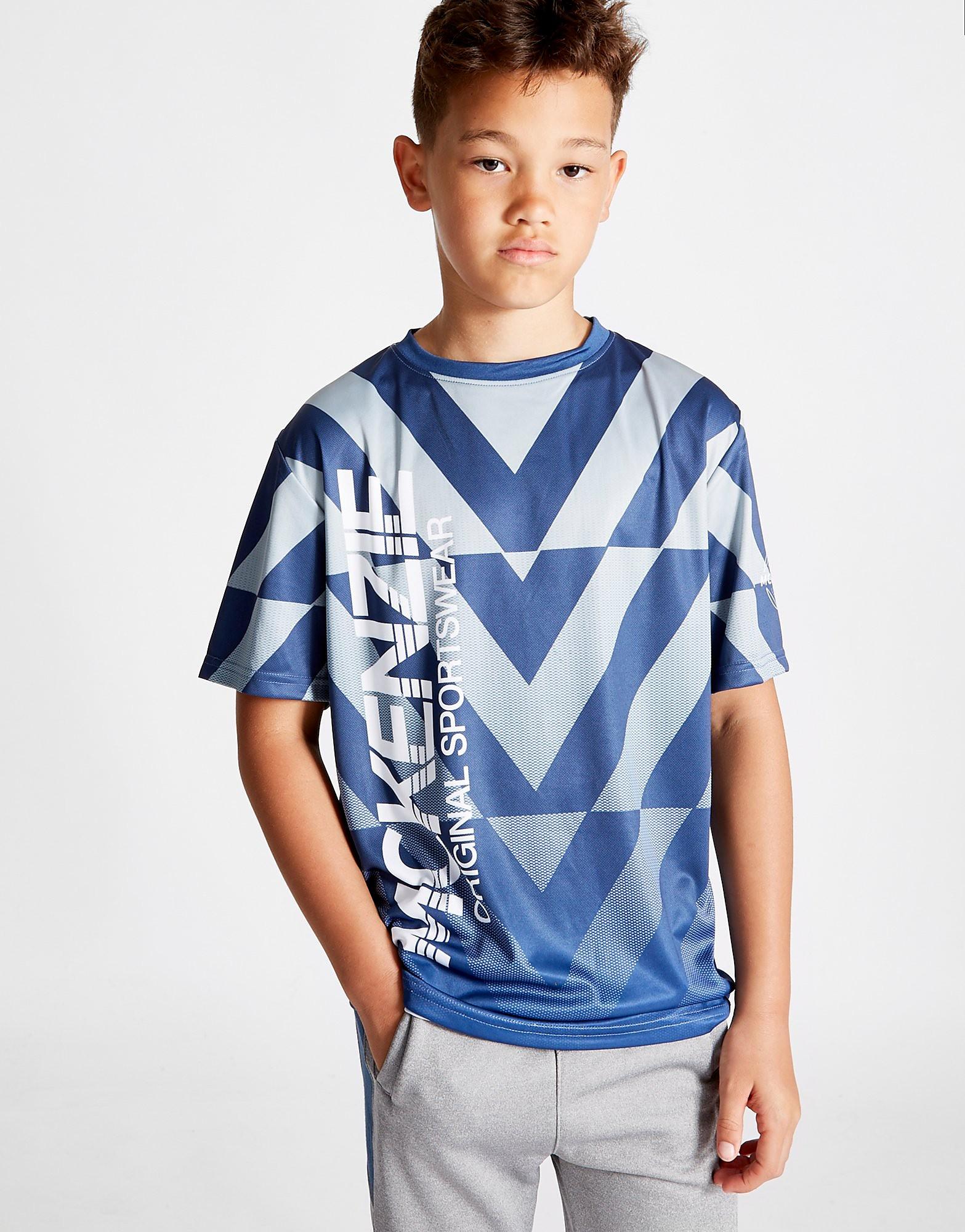 McKenzie Gadget Poly T-Shirt Junior - Blauw - Kind