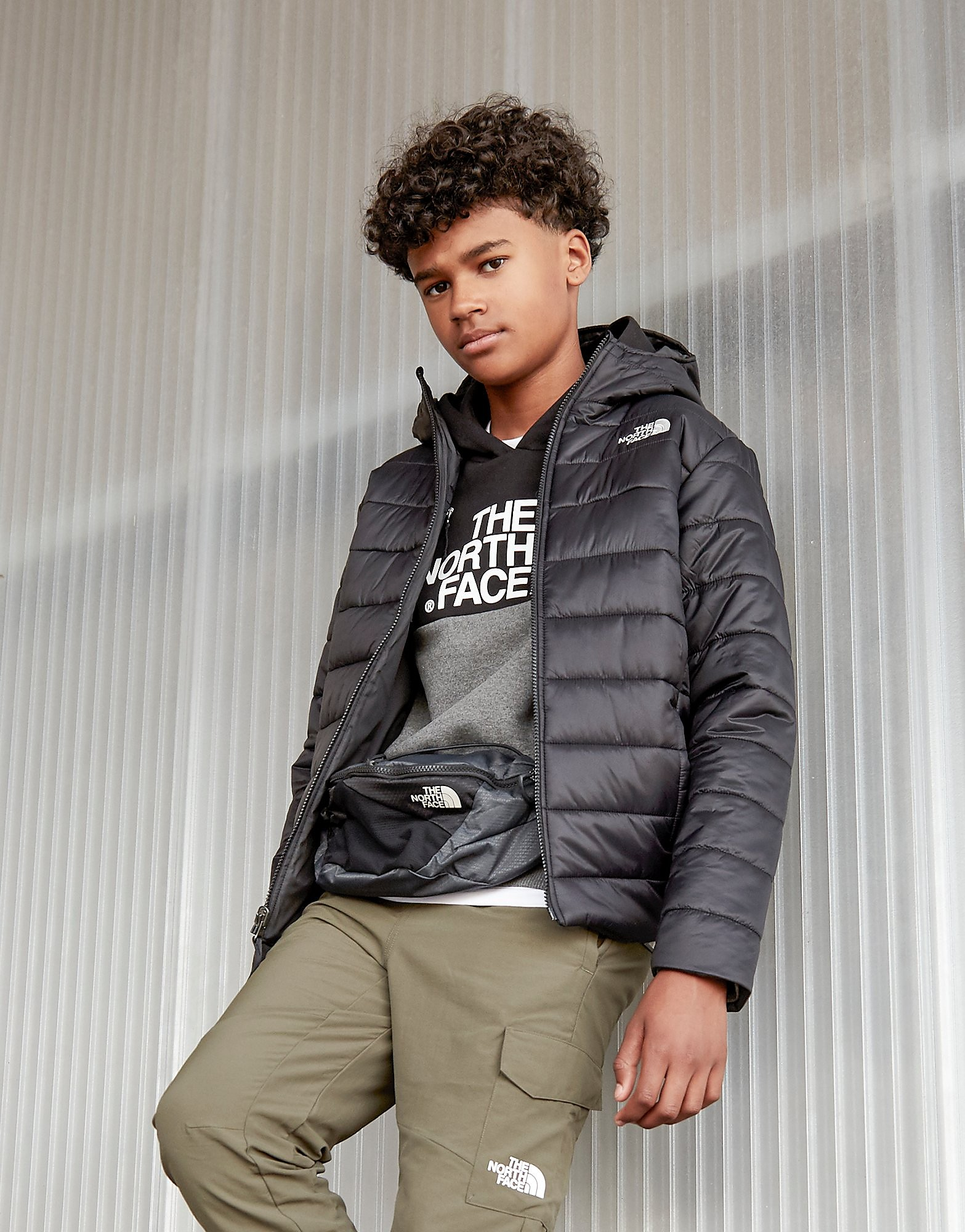The North Face Perrito Jacket Junior - Zwart - Kind