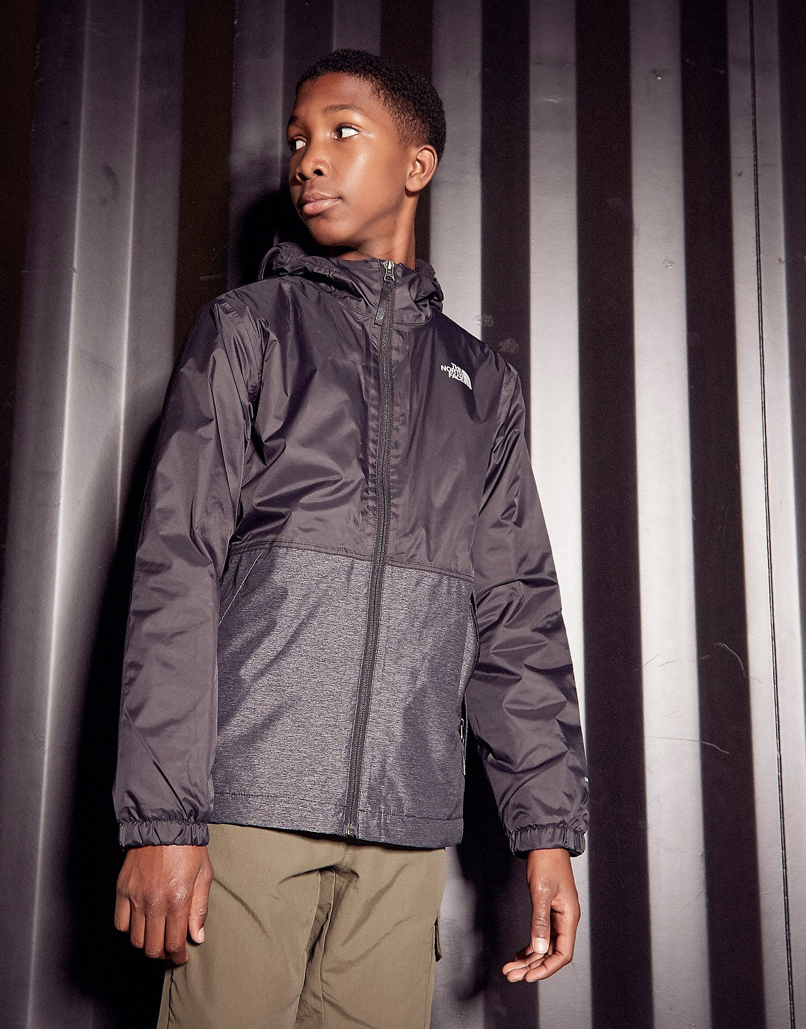 The North Face Warm Storm Jacket Junior - Zwart - Kind