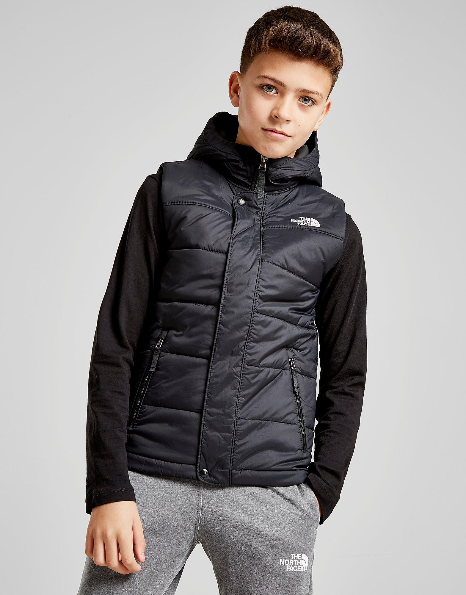 The North Face Harway Gilet Junior - Zwart - Kind