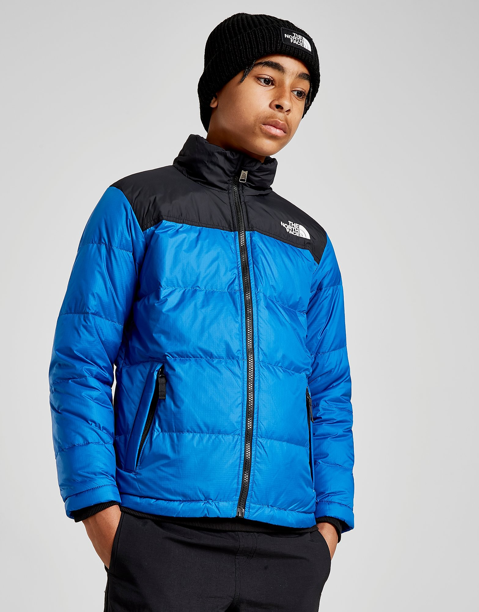 The North Face Nuptse Jacket Junior - Blauw - Kind