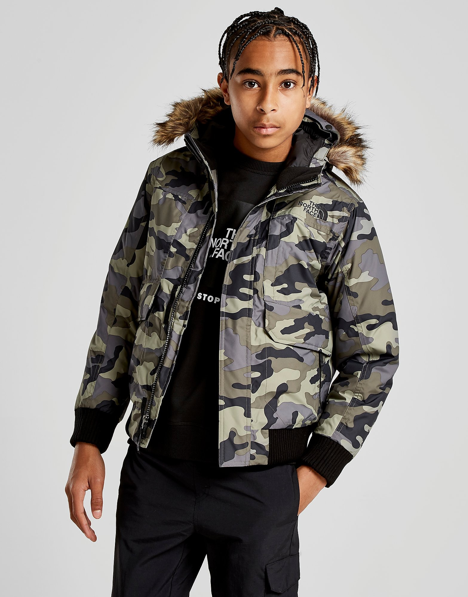 The North Face Gotham Jacket Junior - Groen - Kind