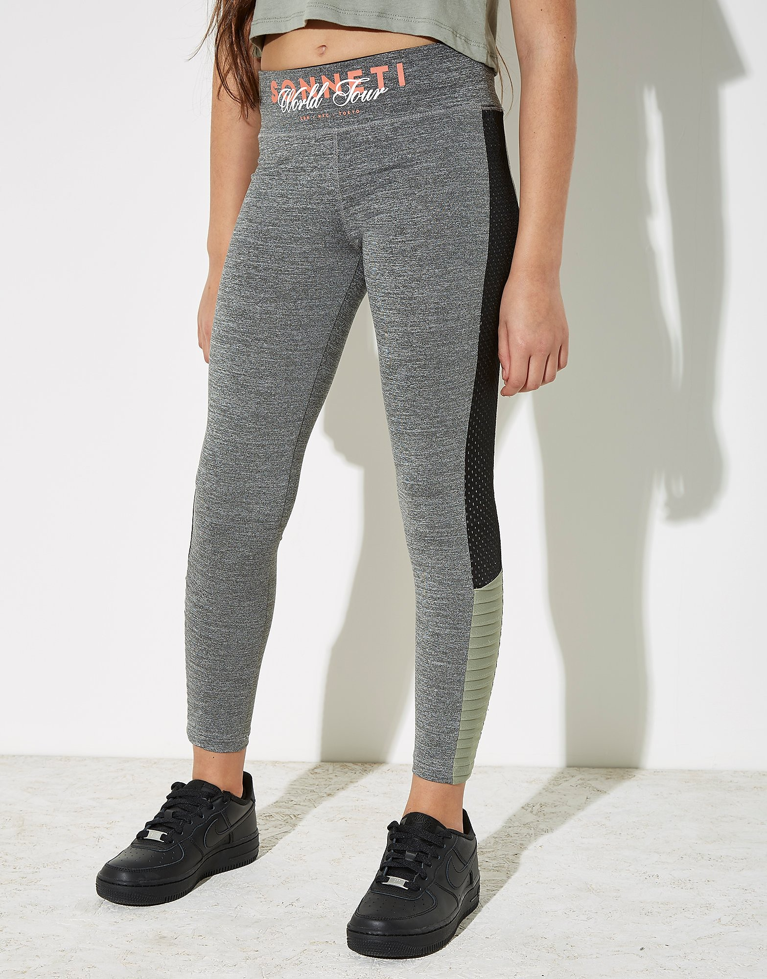 Sonneti Legging Girls' Racer Panel Junior