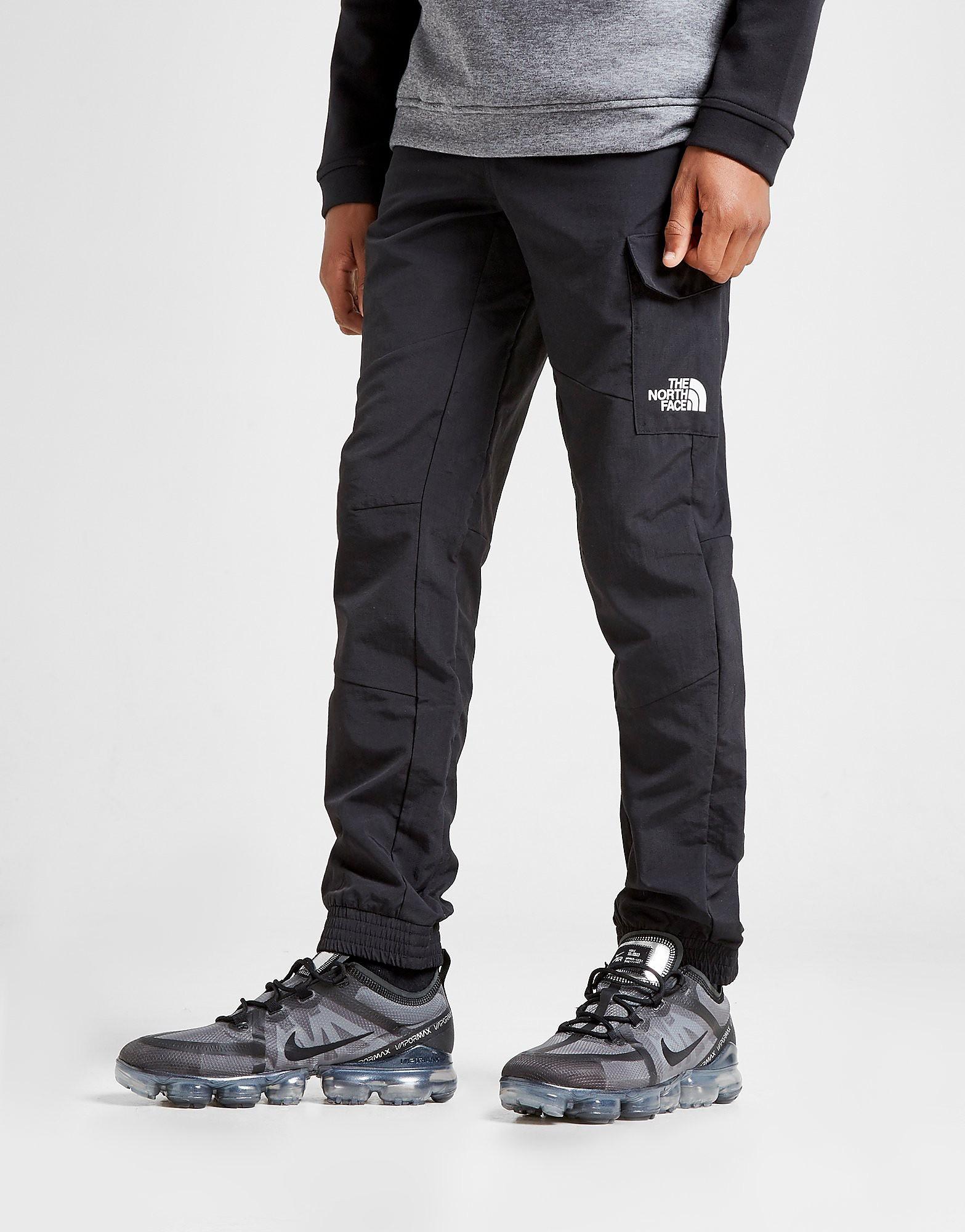 The North Face Woven Cargo Pants Junior - alleen bij JD - Zwart - Kind
