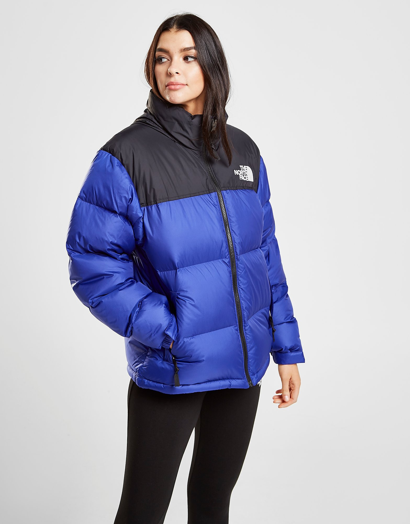 The North Face Nuptse 1996 Jacket Dames - Blauw - Dames