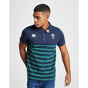 ... official store canterbury ireland rfu stripe polo shirt b3b81 c3295 7f99adfdd0619
