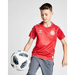 07b152363 Hummel Denmark 2018 19 Home Shirt Junior ...