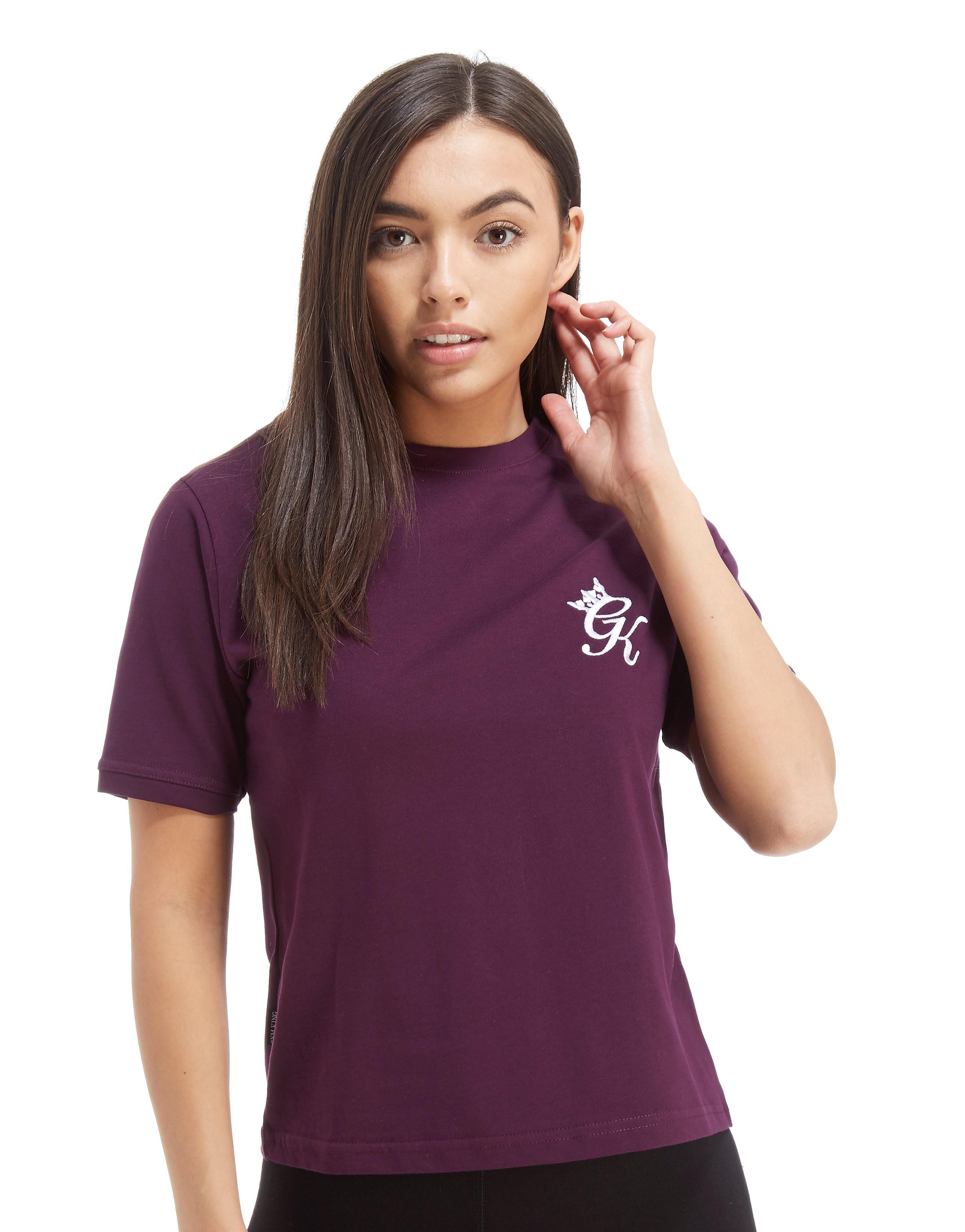 Gym King Logo Crop T-Shirt
