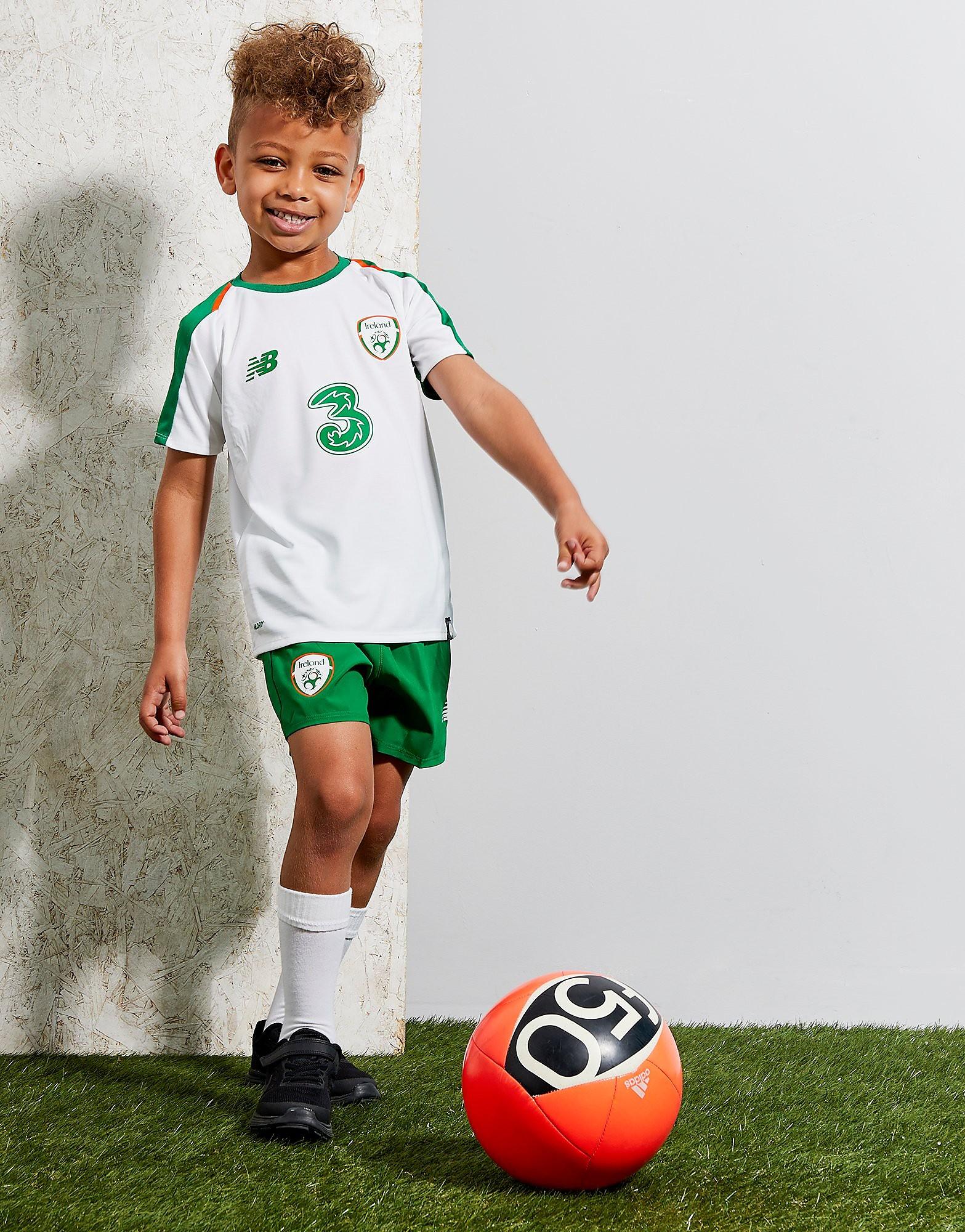 New Balance Republic of Ireland 2018/19 Kit Kinderen - Wit - Kind
