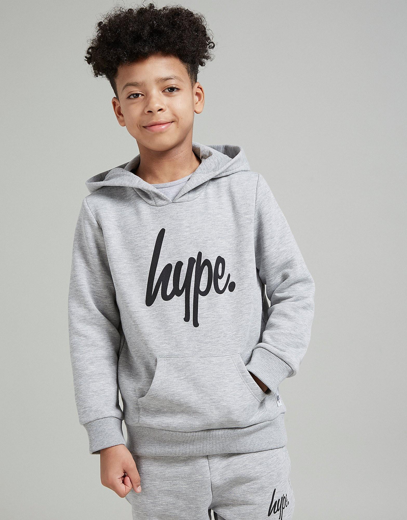 Hype Script Fleece Hoodie Junior