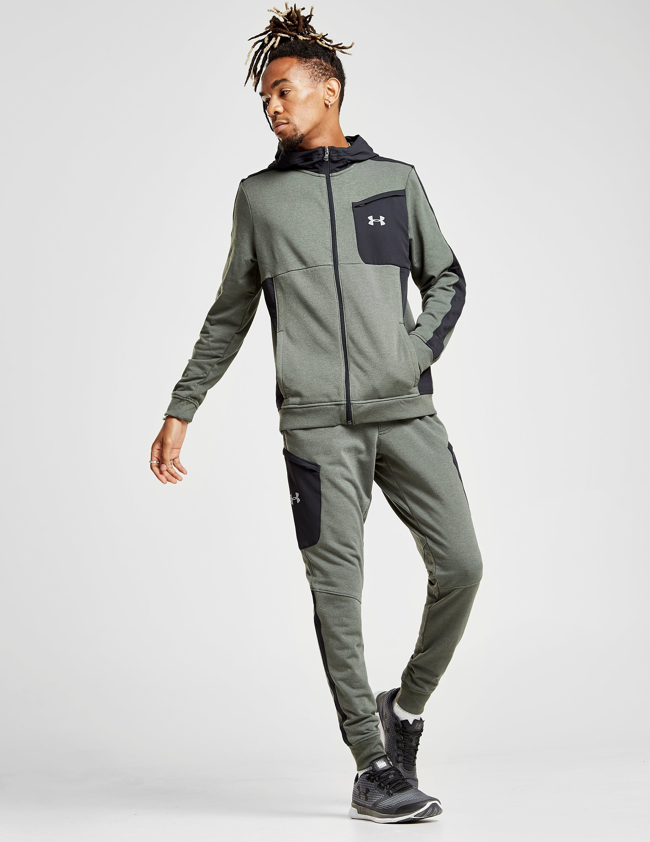 Under Armour Threadborne Tech Track Pants Heren - alleen bij JD - Groen - Heren