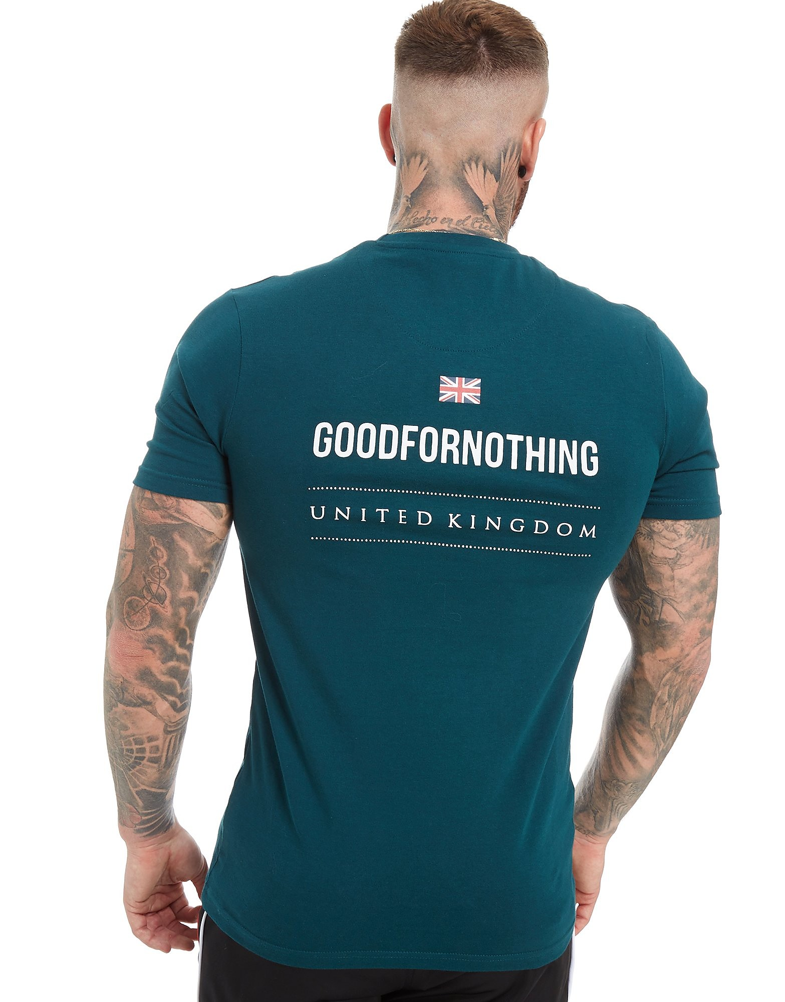 Good For Nothing Core Small Logo T-Shirt Heren