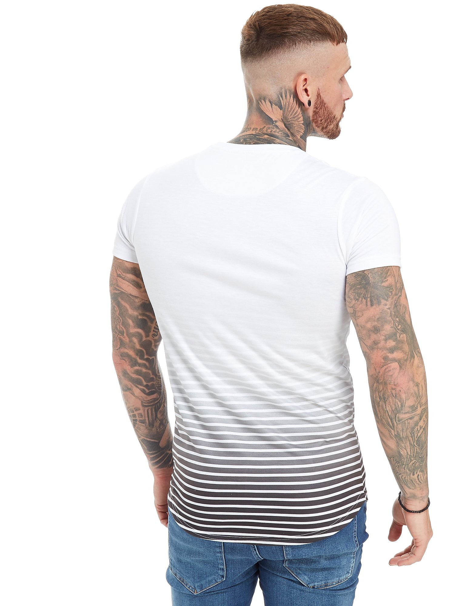 Good For Nothing Stripe Fade T-Shirt