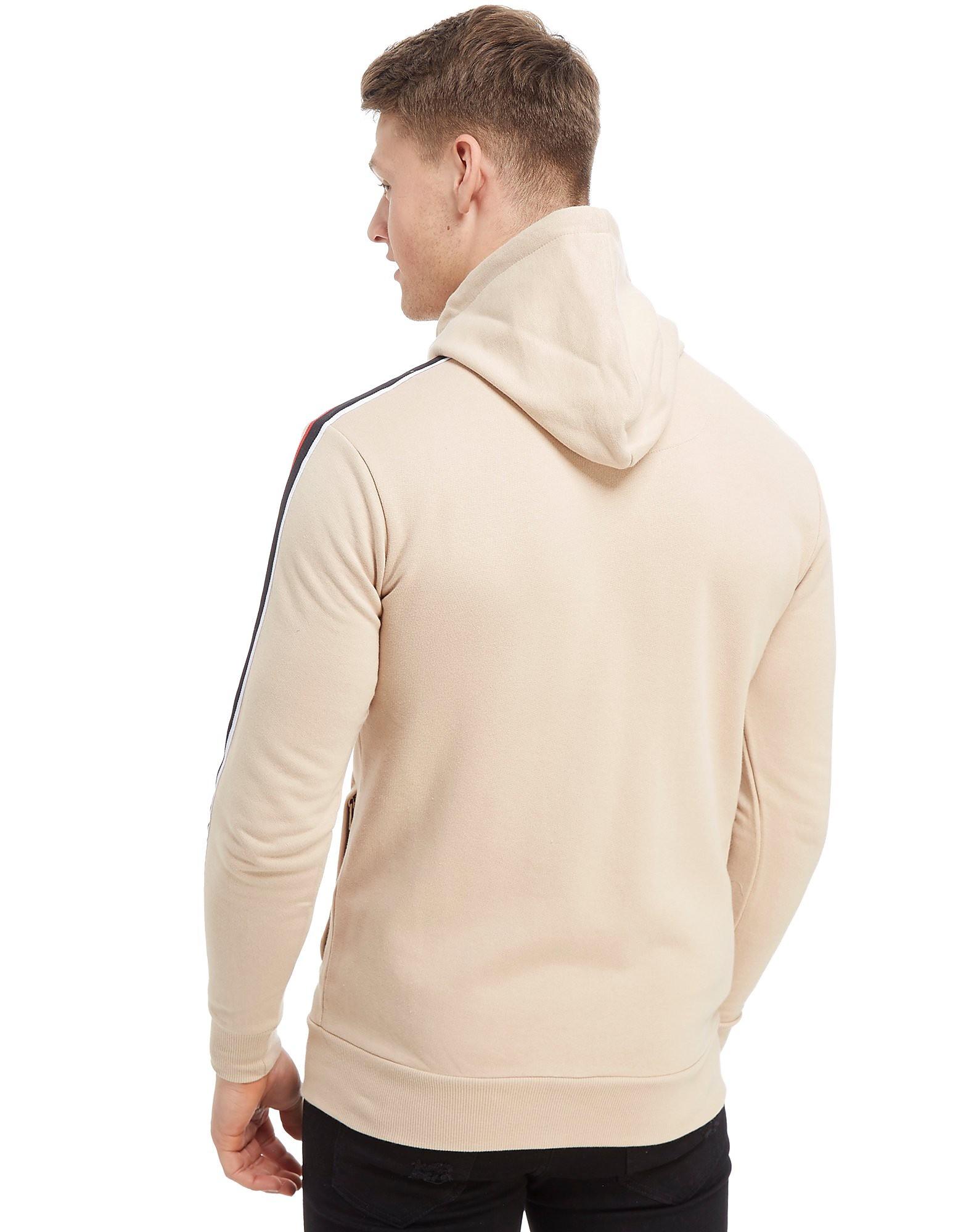 Good For Nothing chaqueta con capucha Fleece Tape