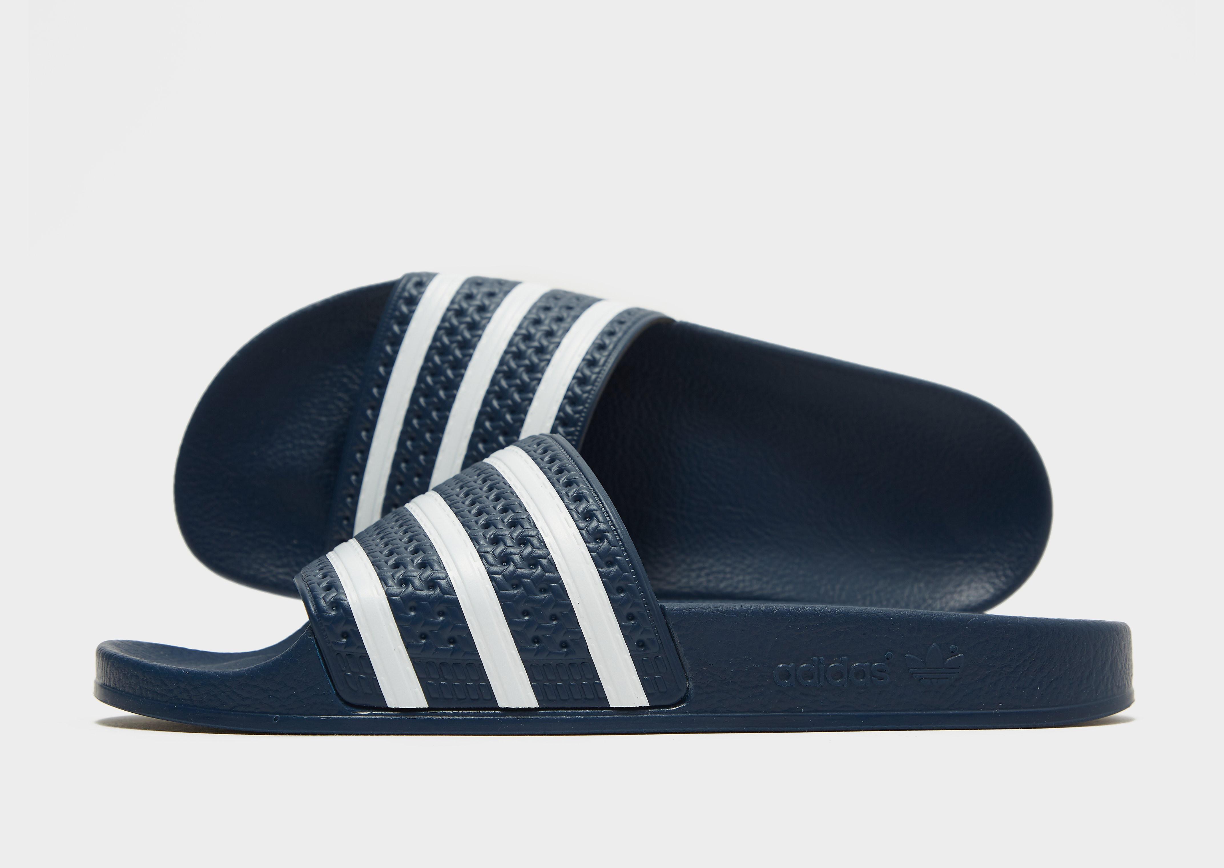 adidas Originals Adilette Slides Heren - Blauw - Heren
