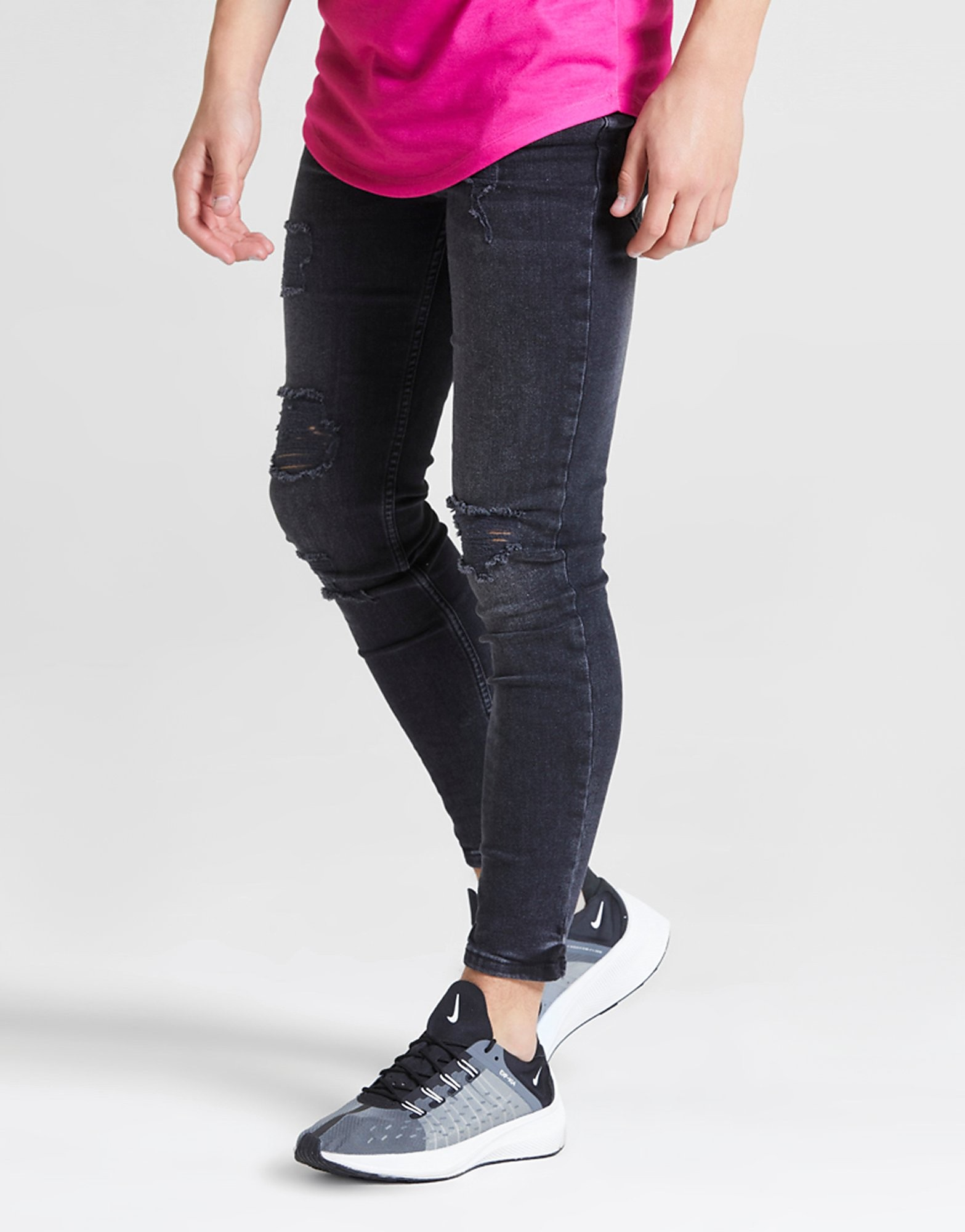 ILLUSIVE LONDON Ripped Jeans Junior