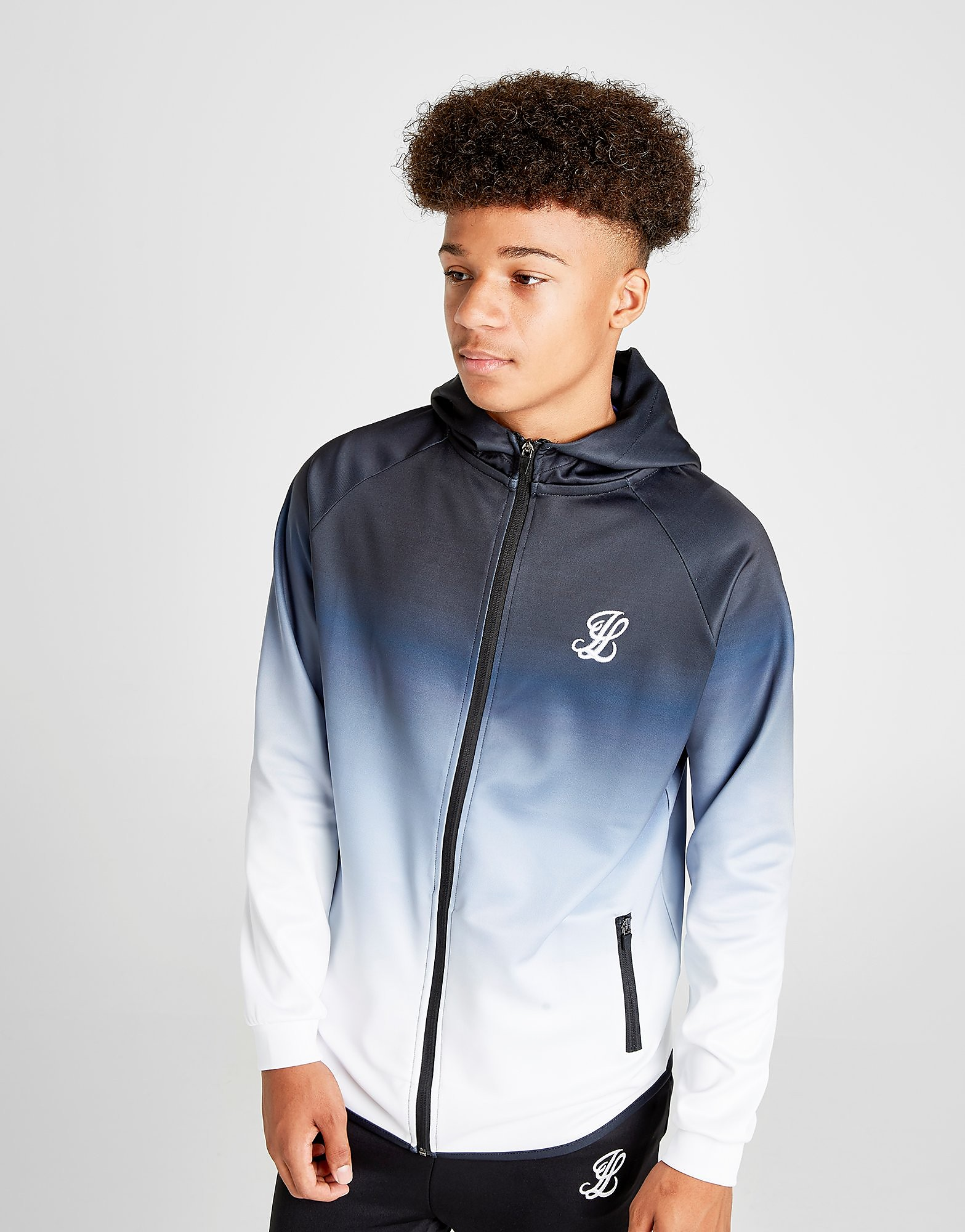ILLUSIVE LONDON Fade Full Zip Hoodie Junior
