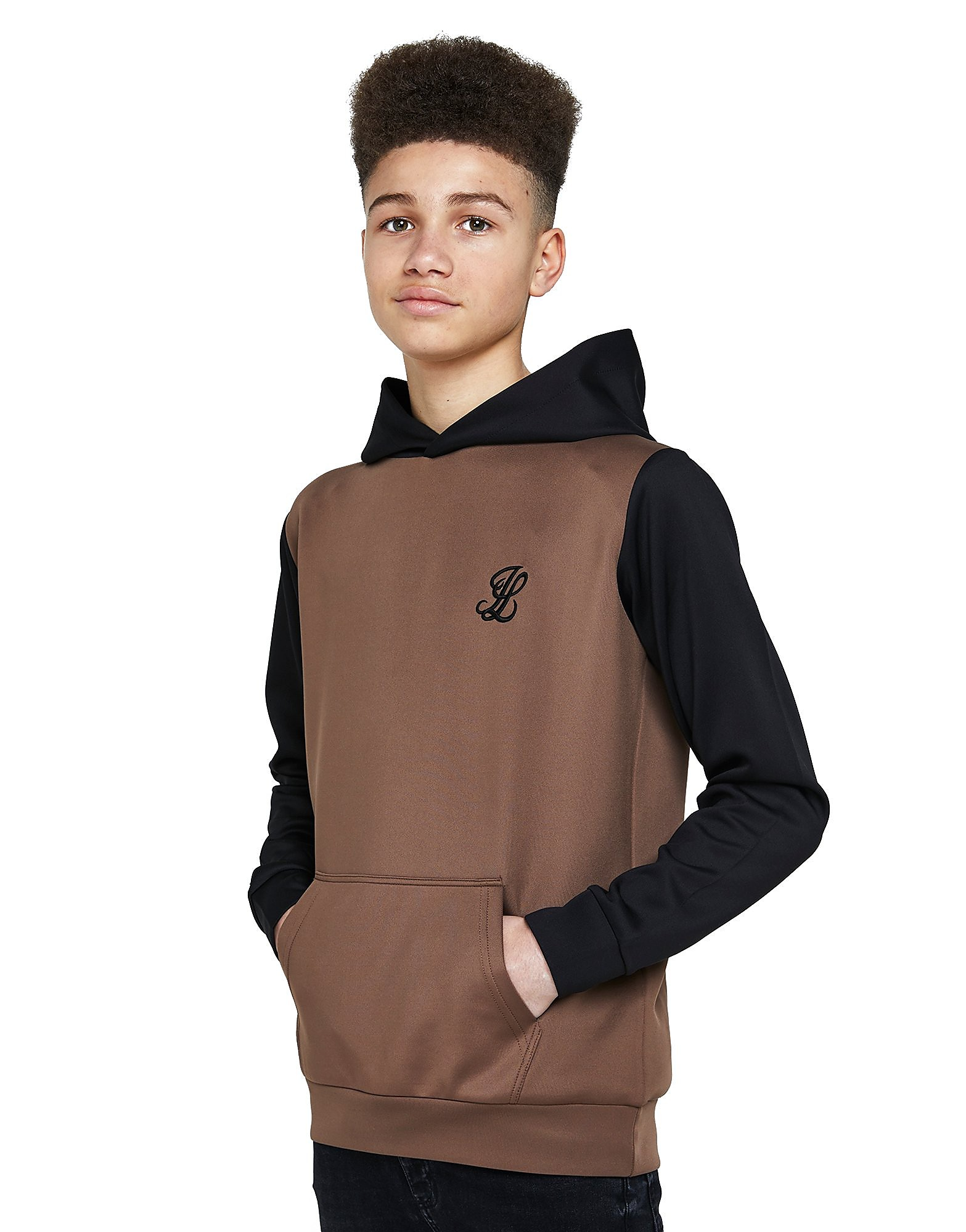 ILLUSIVE LONDON Colourblock Poly Hoodie Junior