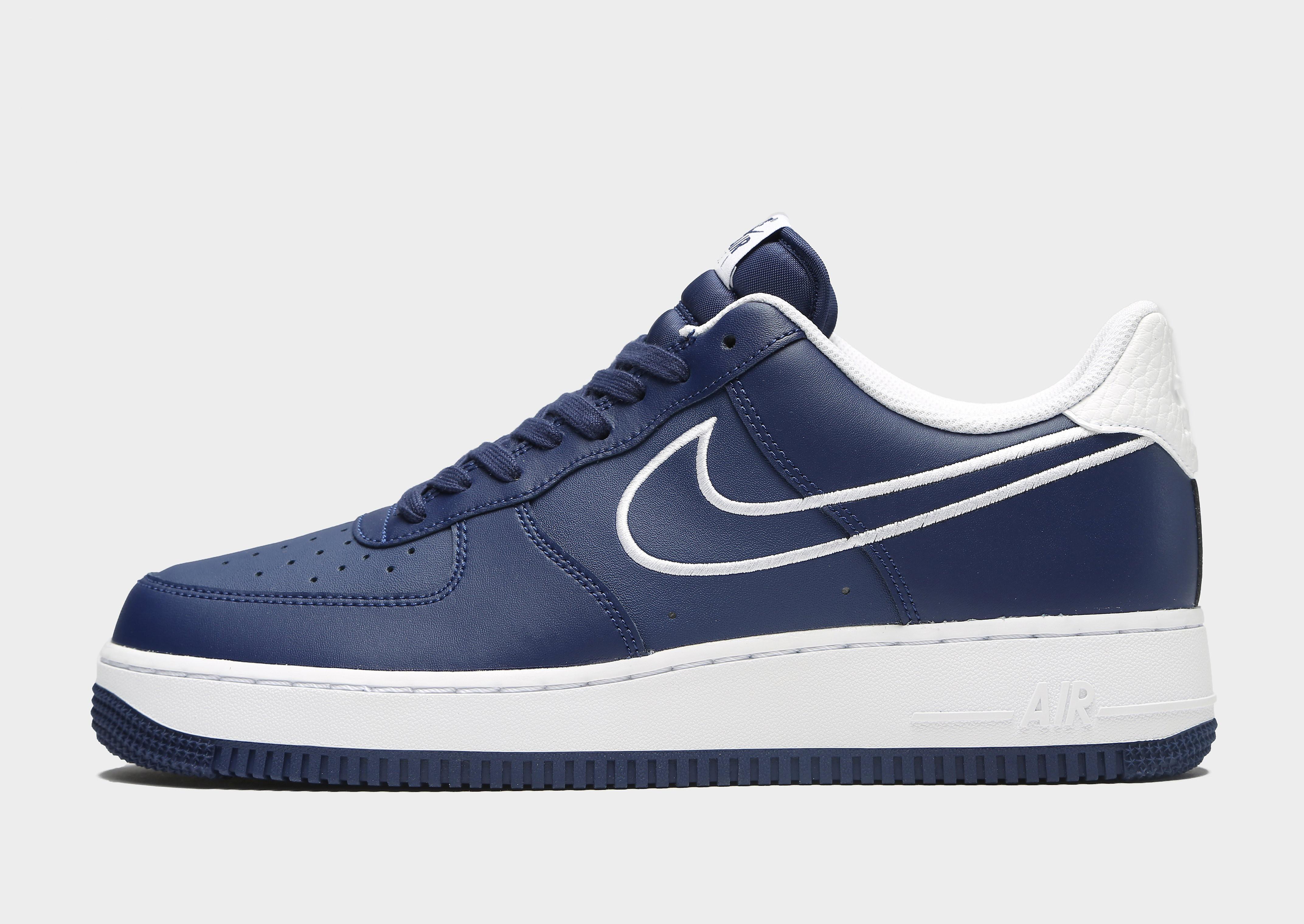 Nike Air Force 1 Low Heren - alleen bij JD - Blauw - Heren