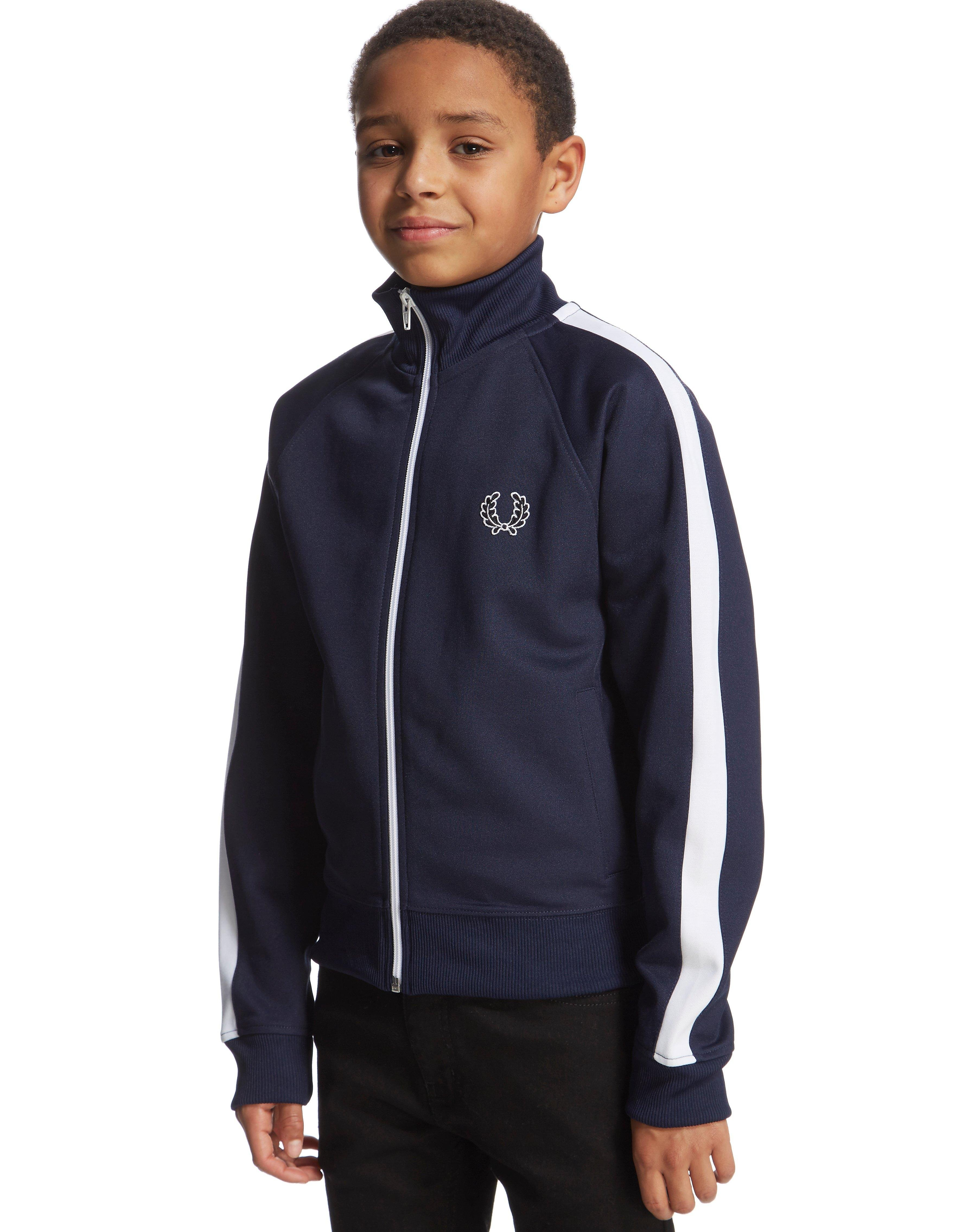 Fred Perry Funnel Neck Track Top Junior