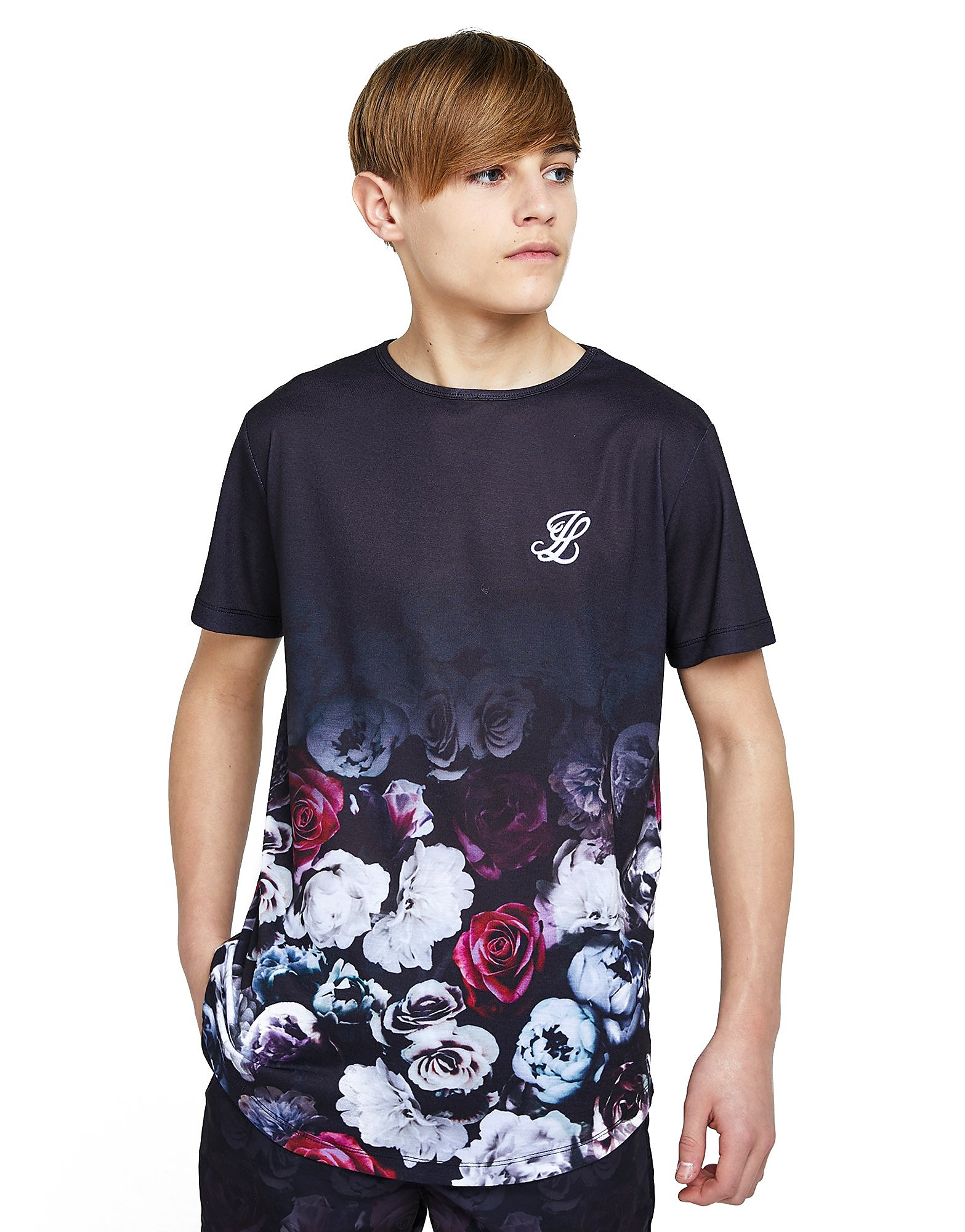 ILLUSIVE LONDON Floral Fade T-Shirt Junior