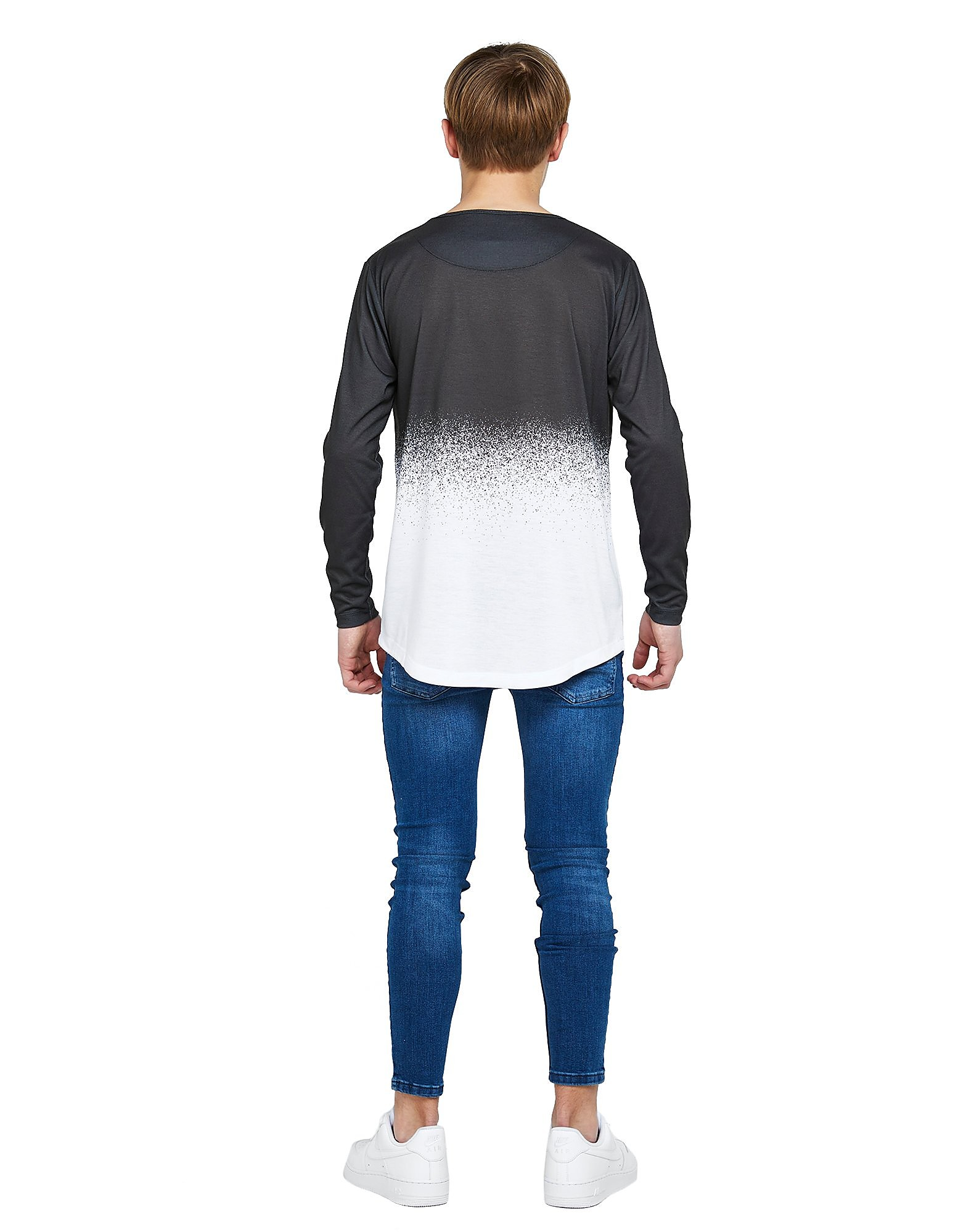 ILLUSIVE LONDON Long Sleeve Fade T-Shirt Junior
