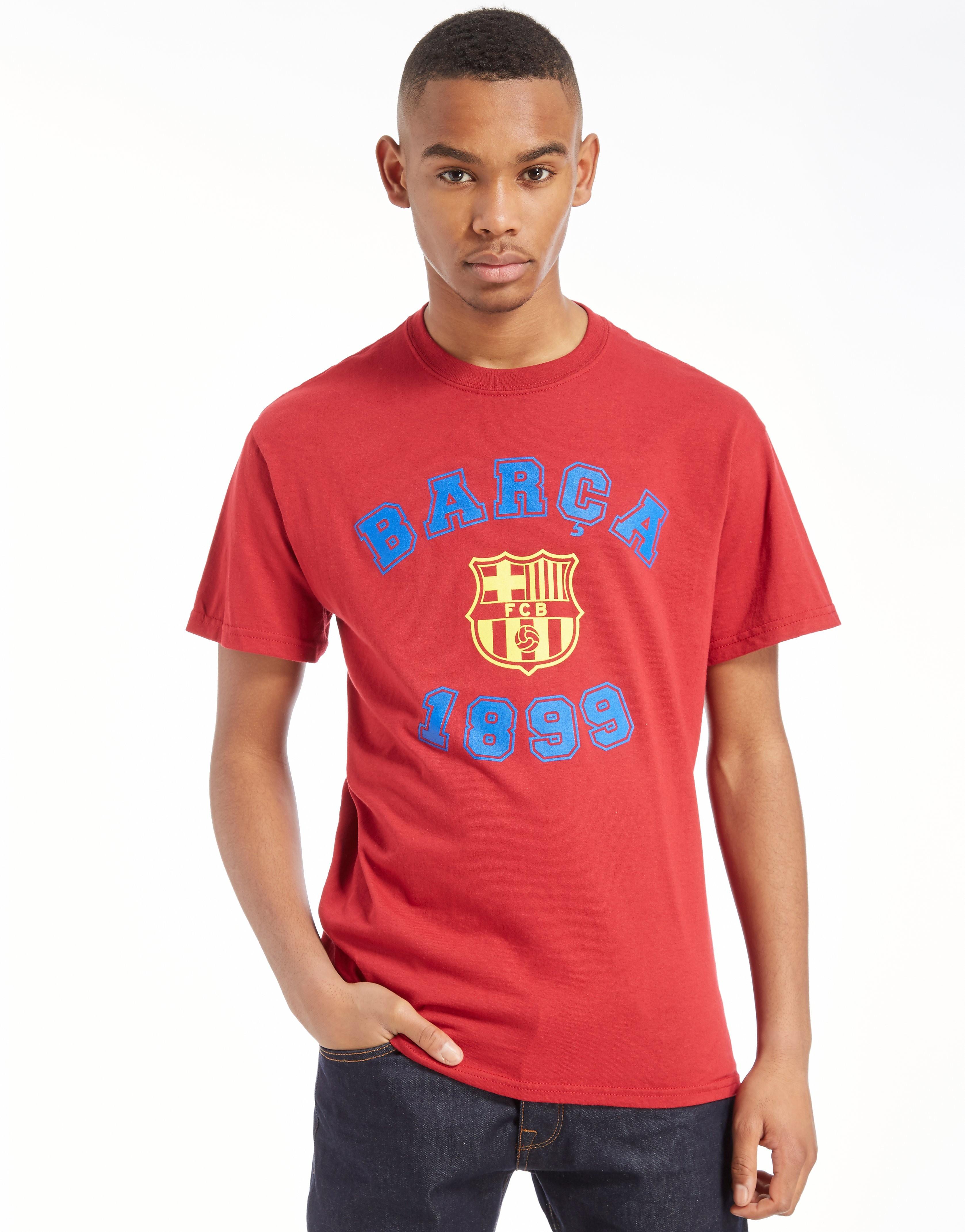Official Team F.C Barcelona Varsity T-Shirt
