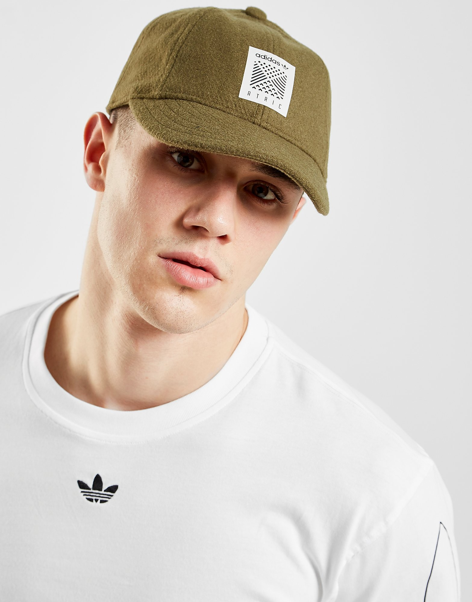 adidas Originals Atric Baseball Cap - Olive - Heren