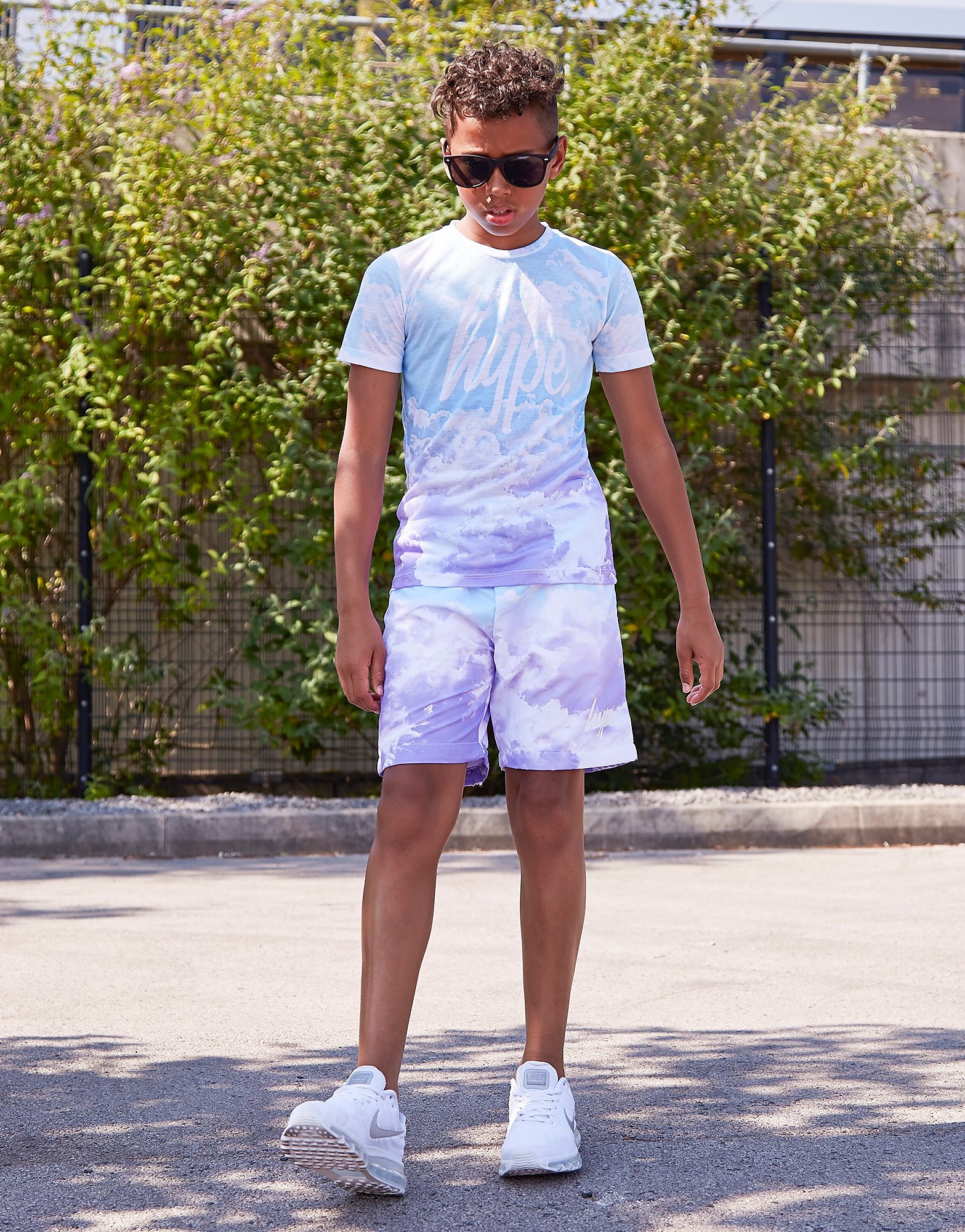 Hype Cloud Fade Shorts Junior
