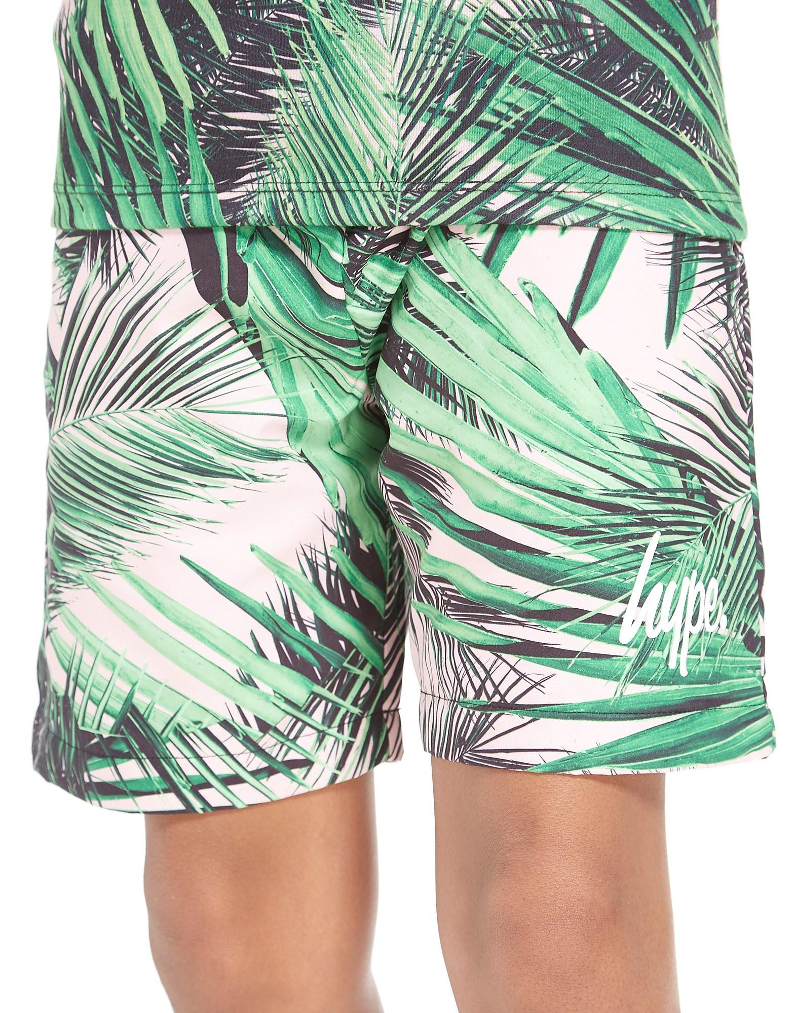Hype Short Palm Print Junior
