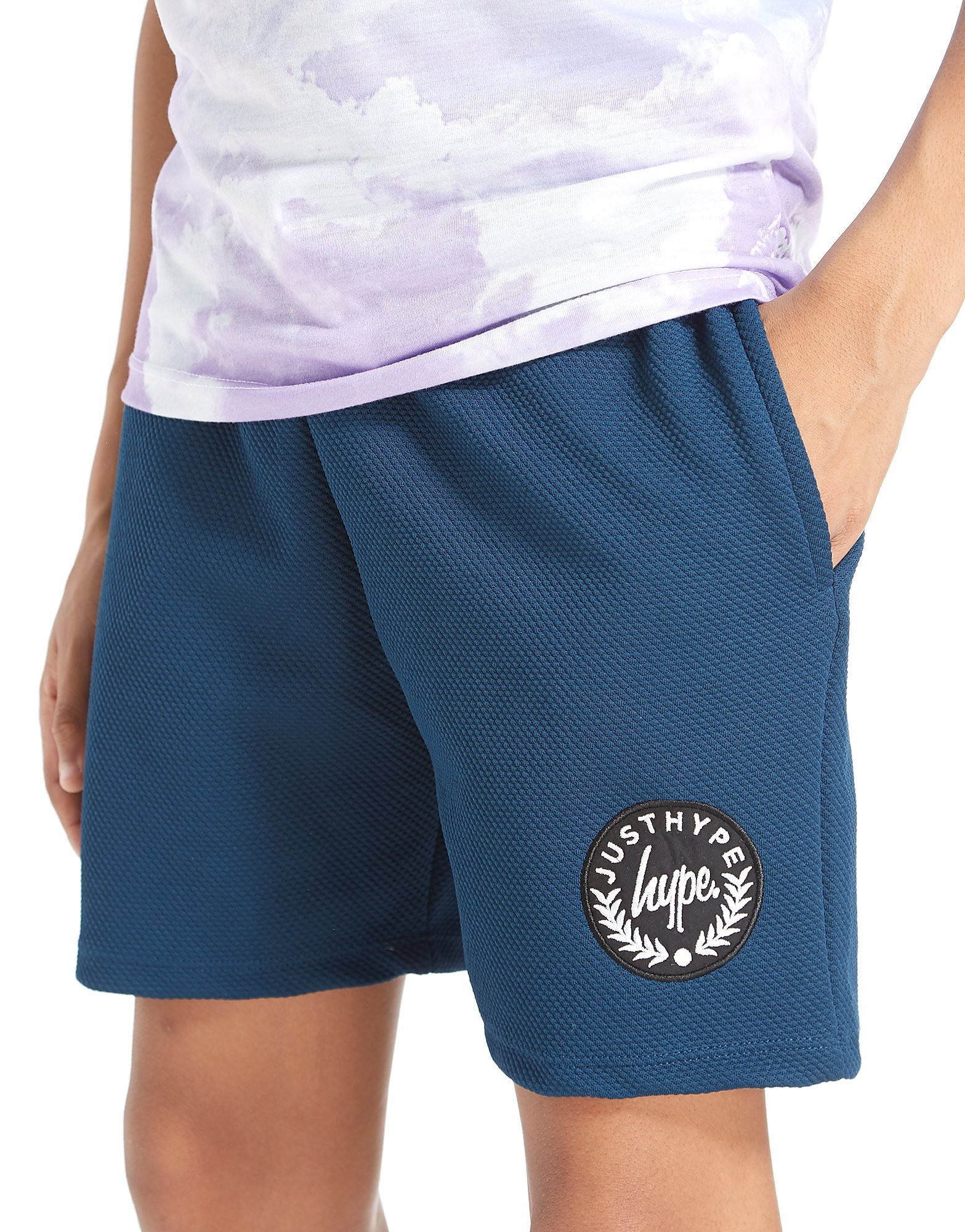 Hype Short Textured Poly Junior