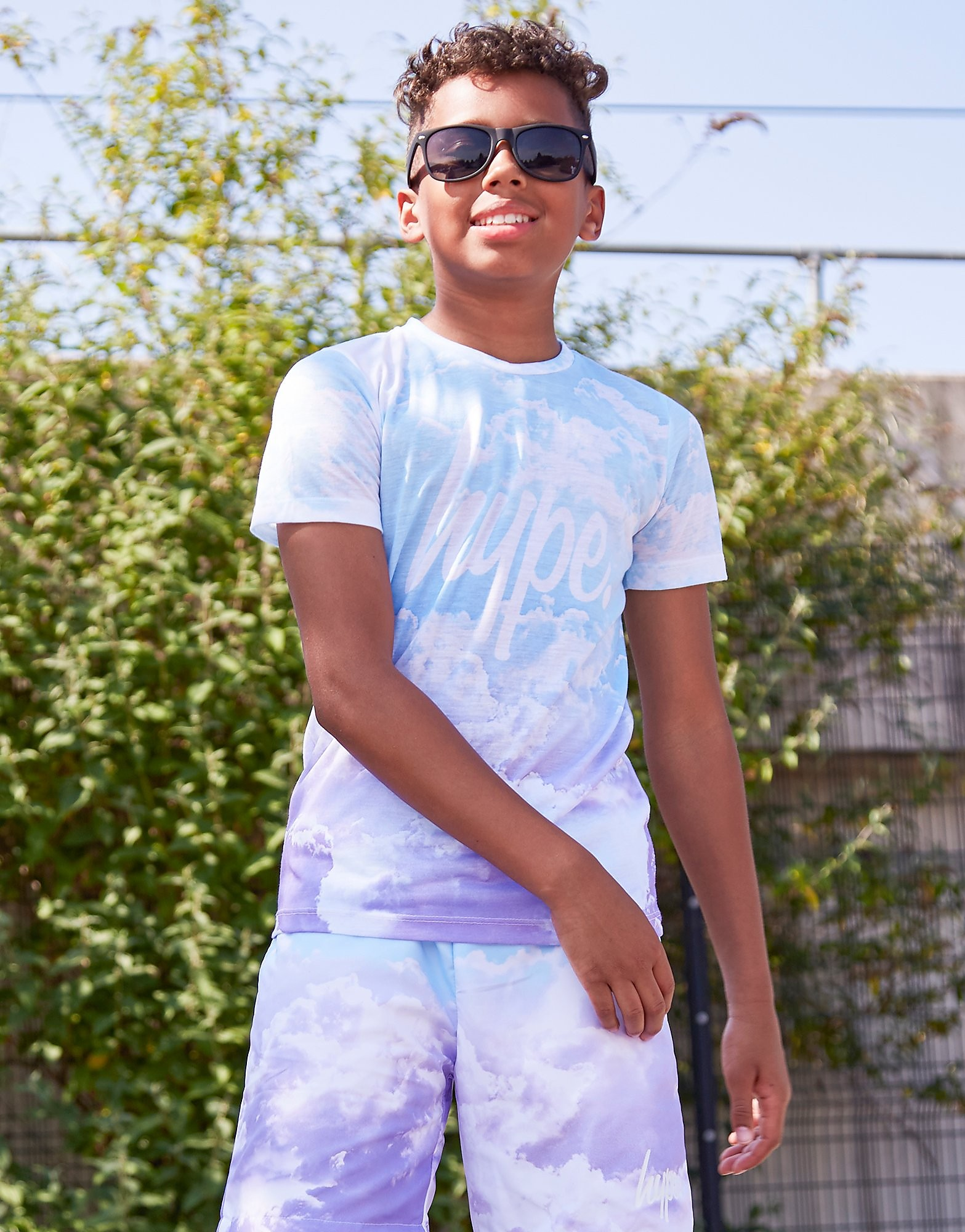Hype Cloud Fade T-Shirt Junior