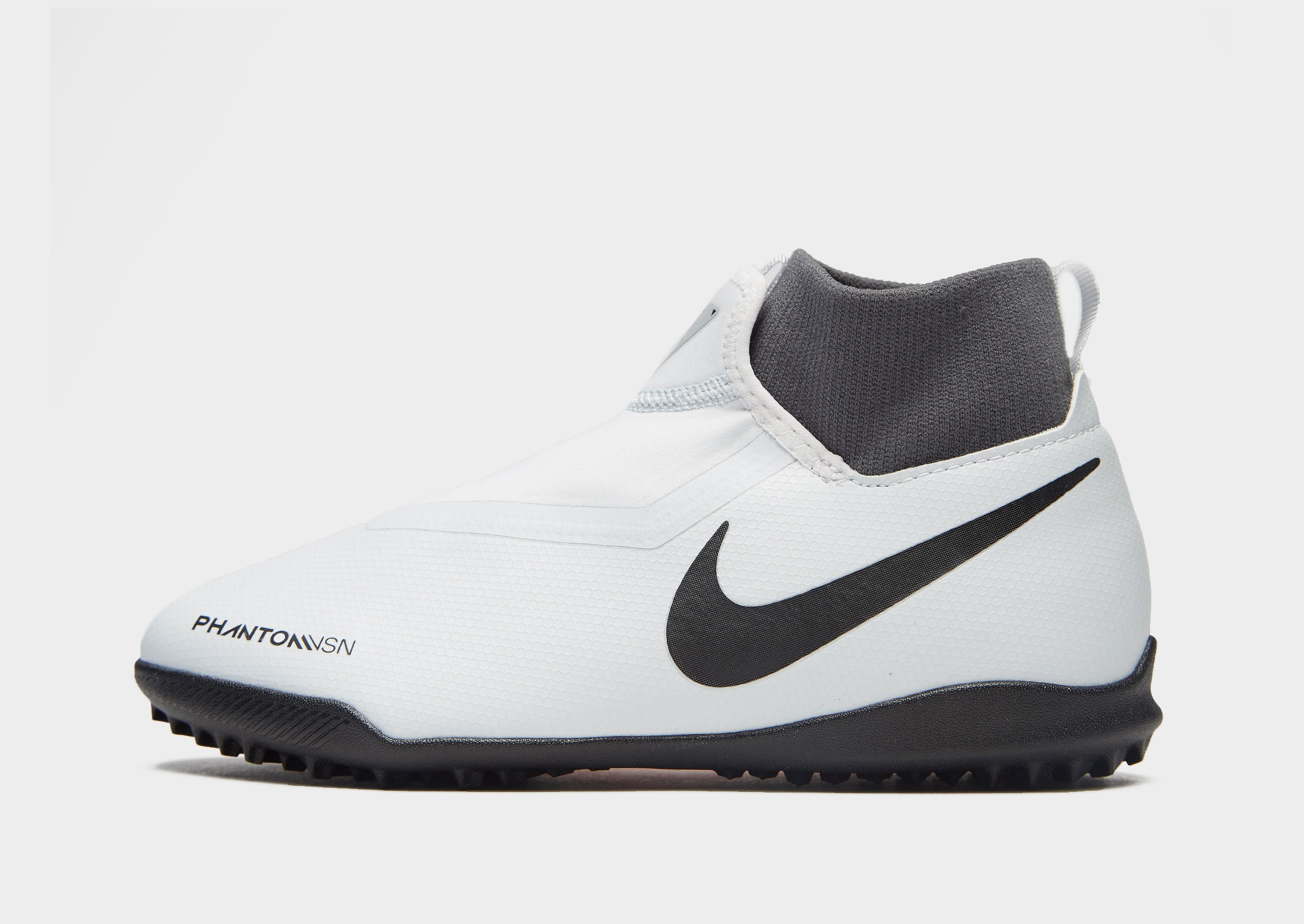 Nike Raised On Concrete Phantom VSN Academy DF TF Jnr - Wit - Kind