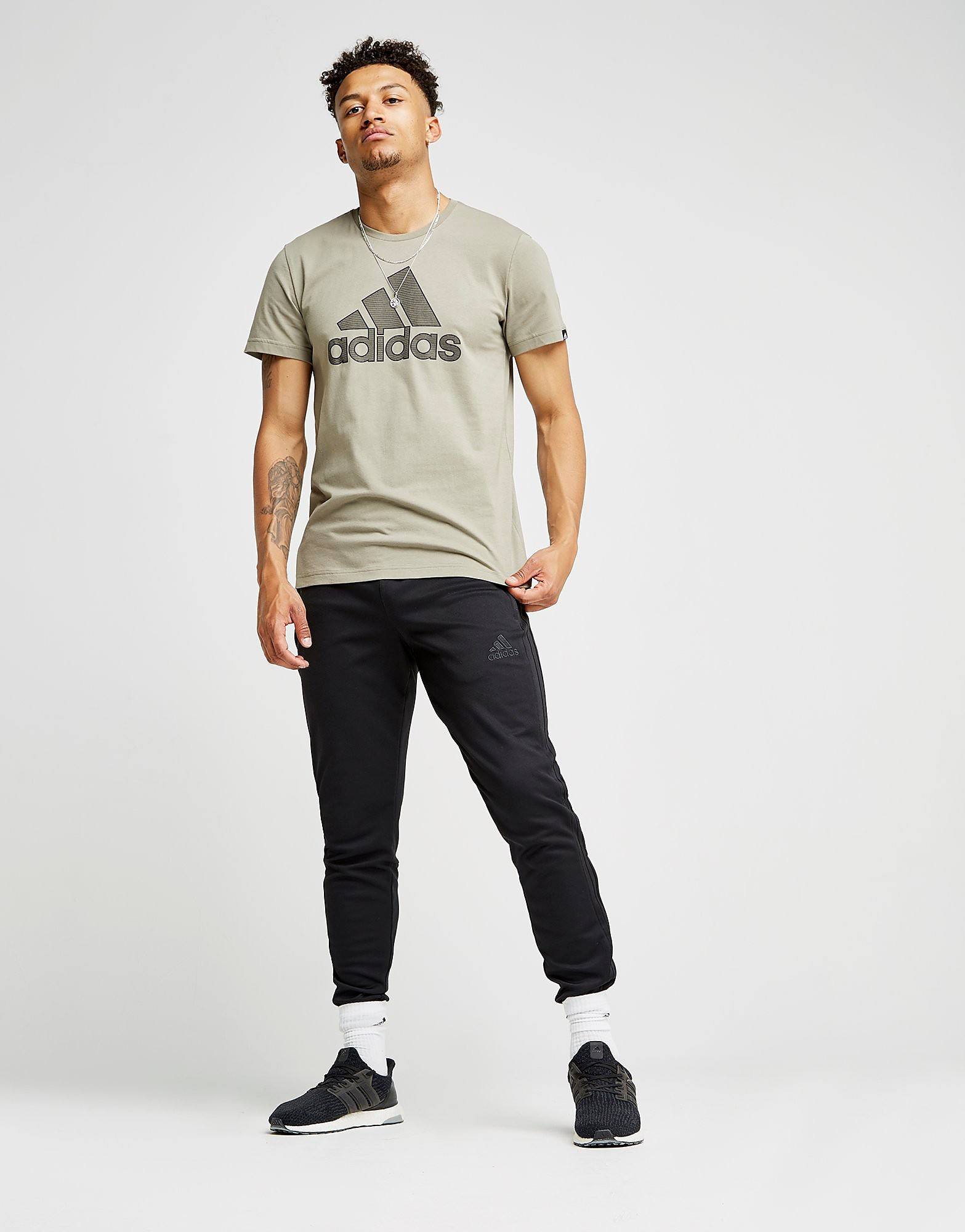 adidas HD Lines T-Shirt Heren