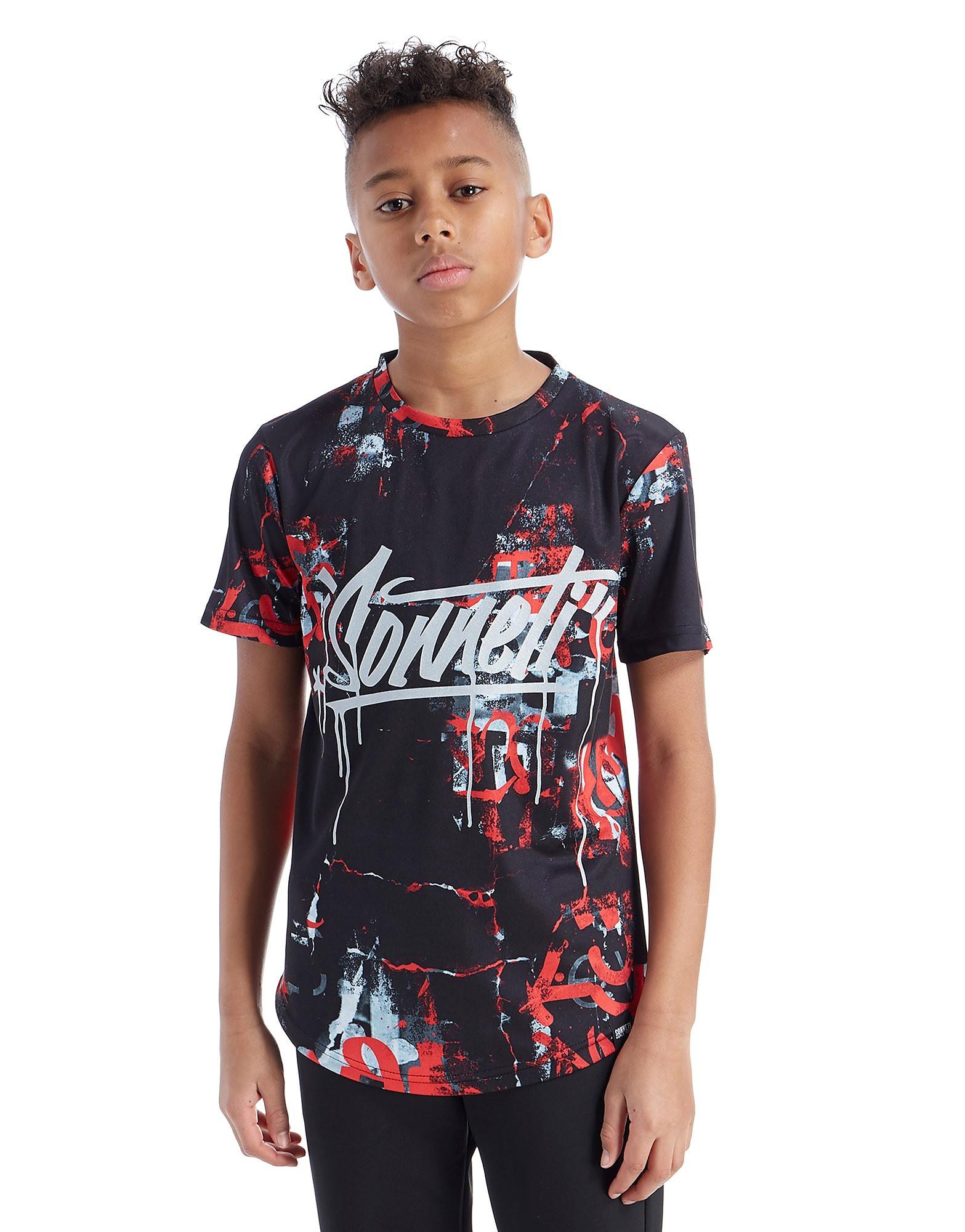 Sonneti Vandal Crack T-Shirt Junior