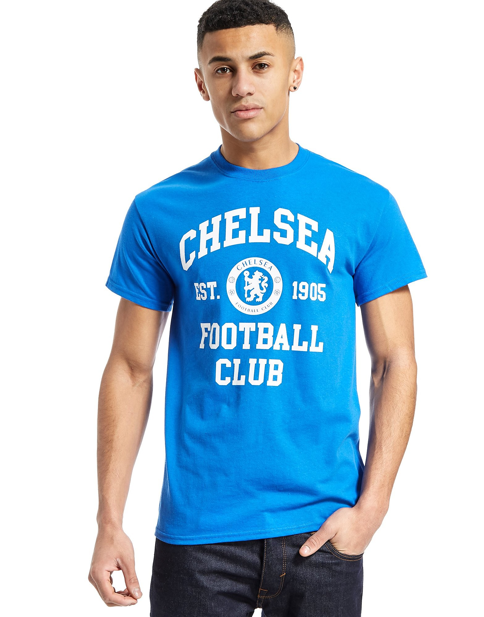 Official Team Chelsea F.C Varsity-T-Shirt