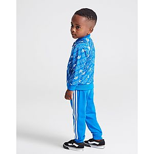 ... adidas Originals Mono All Over Print Superstar Tracksuit Infant 527fe9770a