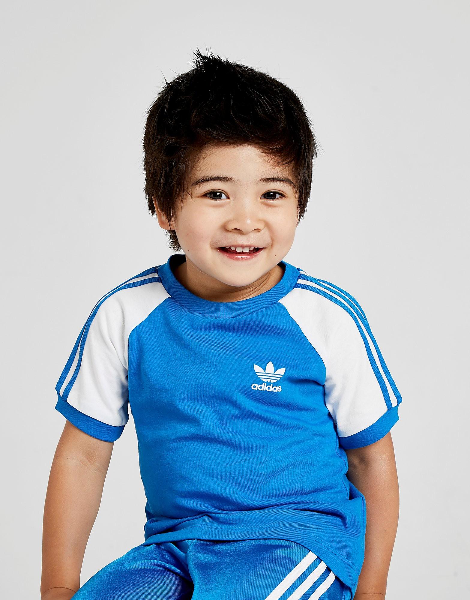 adidas Originals California Colour Block T-Shirt Baby's - Blauw - Kind