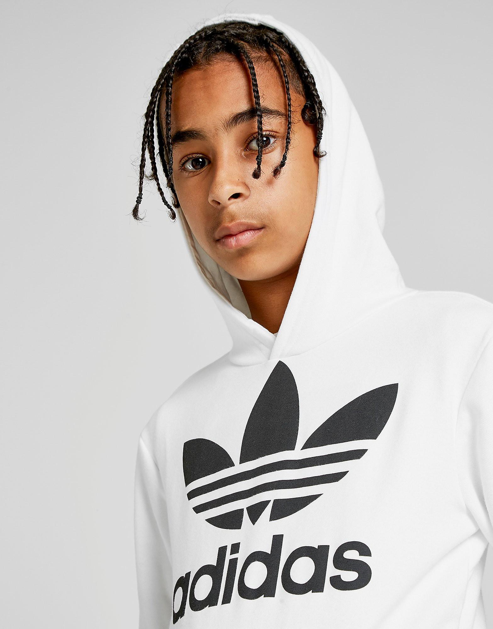 adidas Originals Trefoil Hoodie Junior - Wit - Kind