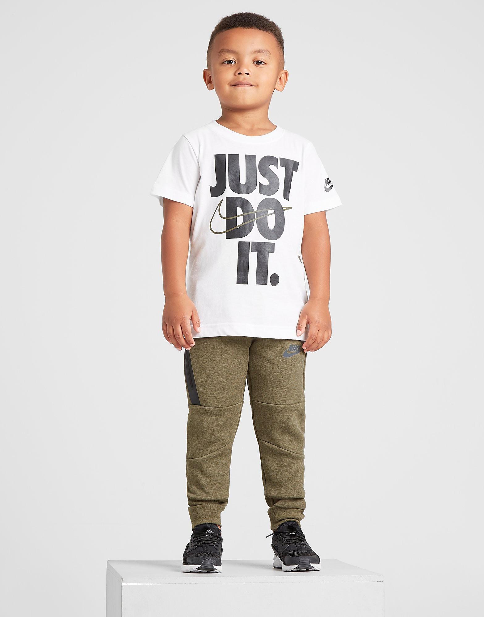 Nike Just Do It T-Shirt Children - Wit - Kind