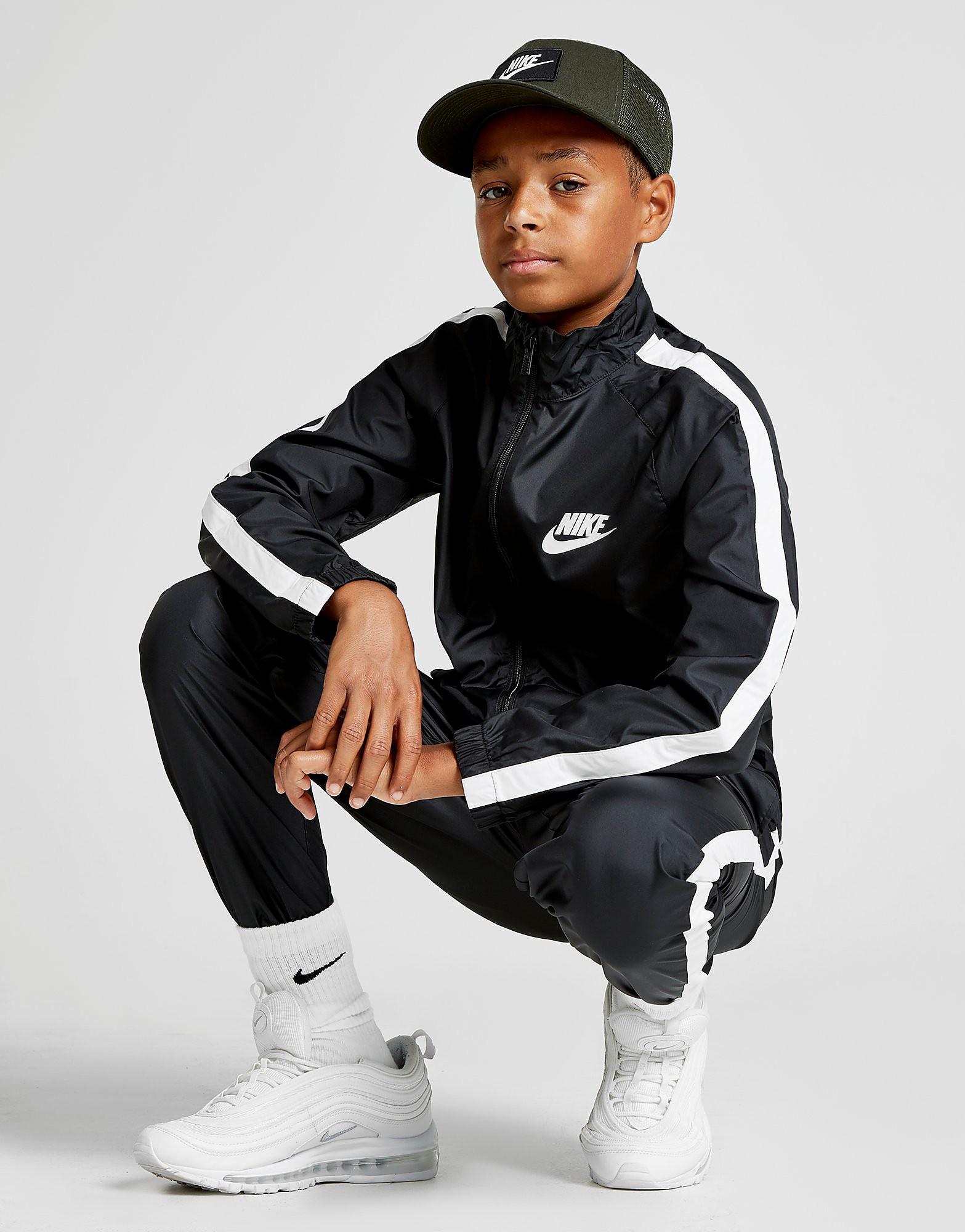 Nike Season Woven Suit Junior - Zwart - Kind