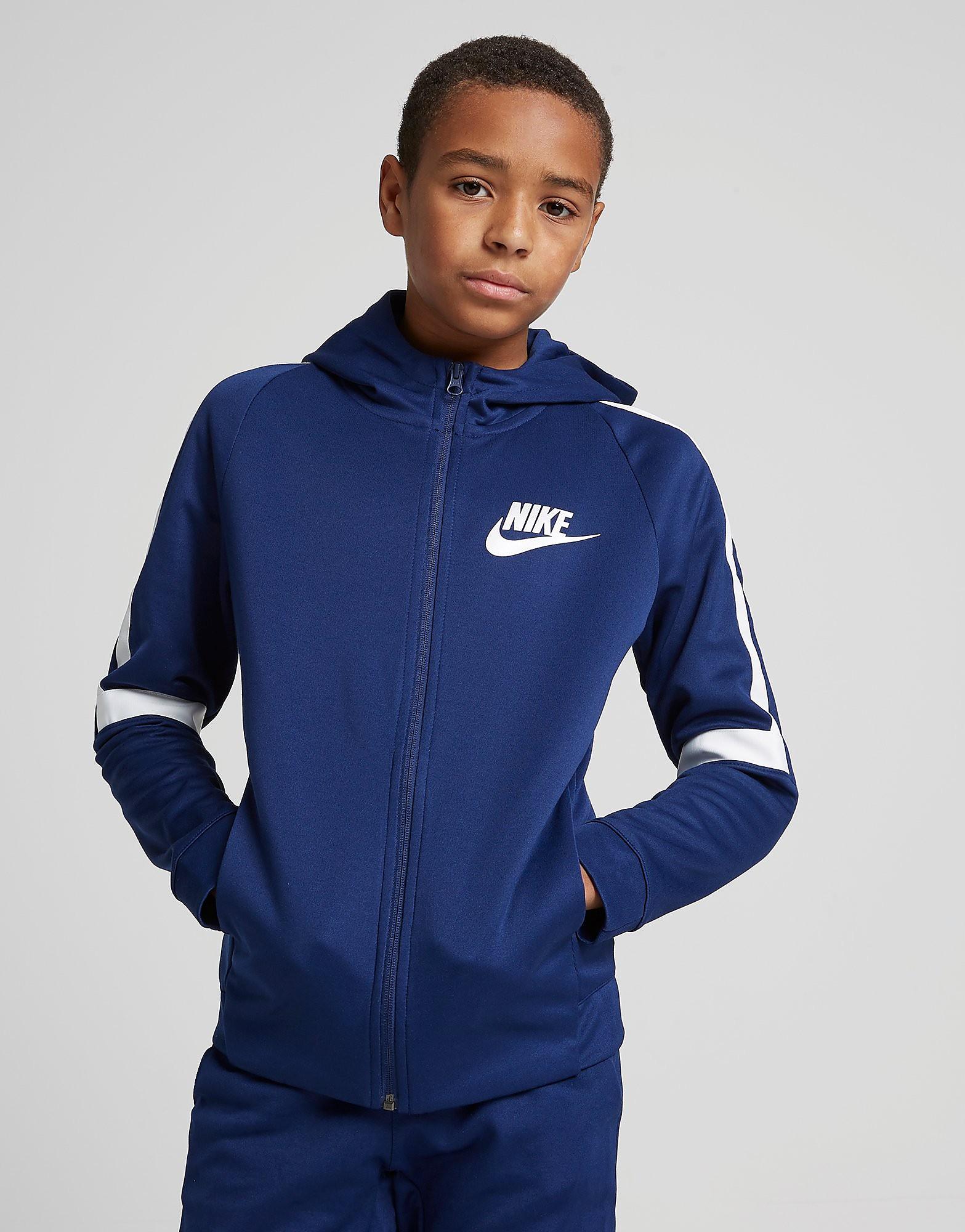 Nike Tribute Poly Hoodie Junior - Blauw - Kind