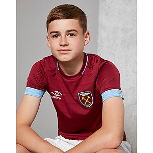 Umbro West Ham United 2018 19 Home Shirt Junior ... 8c573c25a