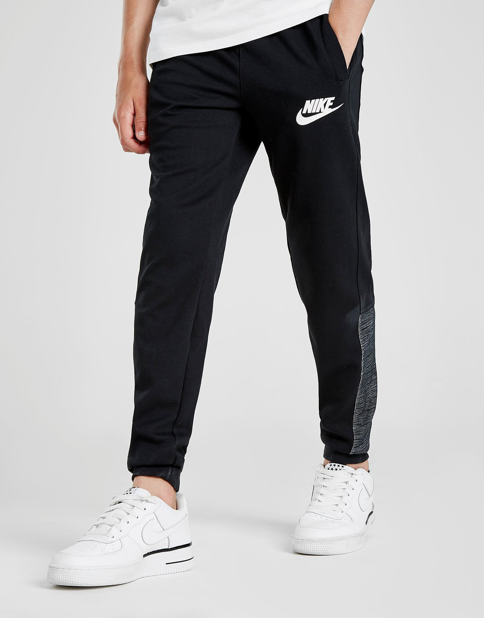 Nike Advance Fleece Pants Junior - Zwart - Kind